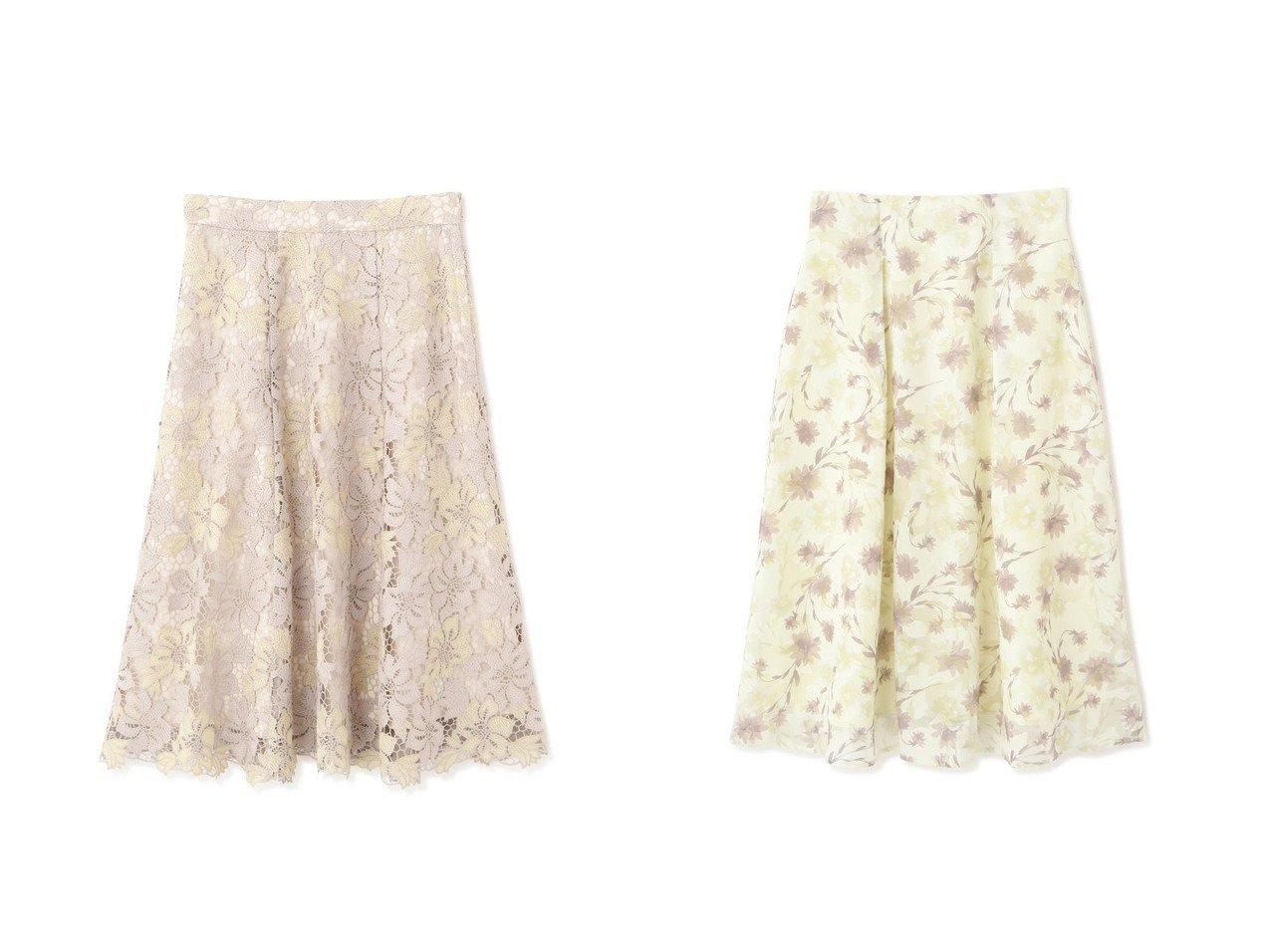 【PROPORTION BODY DRESSING/プロポーション ボディドレッシング】のケミカルフラワーレースフレアスカート&シアージャガードフラワースカート スカートのおすすめ!人気トレンド・レディースファッションの通販 おすすめで人気の流行・トレンド、ファッションの通販商品 メンズファッション・キッズファッション・インテリア・家具・レディースファッション・服の通販 founy(ファニー) https://founy.com/ ファッション Fashion レディースファッション WOMEN スカート Skirt Aライン/フレアスカート Flared A-Line Skirts カットソー シンプル スタンダード トレンド フレア レース 人気 今季 定番 フラワー リブニット 春 |ID:crp329100000008981