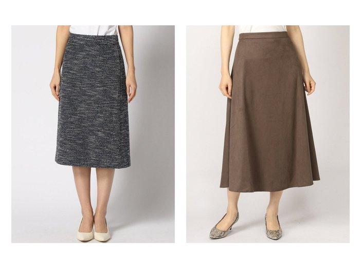 【GLOBAL WORK/グローバルワーク】のアラエルカットツイードSK&エコスエードセミフレアスカート スカートのおすすめ!人気トレンド・レディースファッションの通販 おすすめファッション通販アイテム レディースファッション・服の通販 founy(ファニー) ファッション Fashion レディースファッション WOMEN スカート Skirt Aライン/フレアスカート Flared A-Line Skirts ジャケット ストレッチ セットアップ ツイード ミックス スエード フレア  ID:crp329100000008982