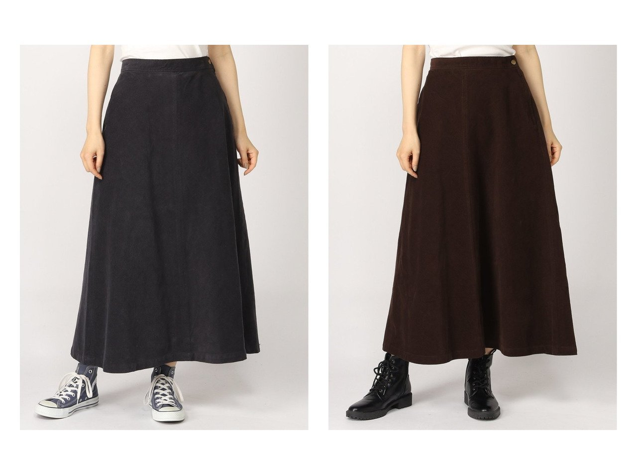 【studio CLIP/スタディオ クリップ】の16WコールセミフレアSK スカートのおすすめ!人気トレンド・レディースファッションの通販 おすすめで人気の流行・トレンド、ファッションの通販商品 メンズファッション・キッズファッション・インテリア・家具・レディースファッション・服の通販 founy(ファニー) https://founy.com/ ファッション Fashion レディースファッション WOMEN スカート Skirt Aライン/フレアスカート Flared A-Line Skirts コーデュロイ バイアス フレア ロング |ID:crp329100000008985