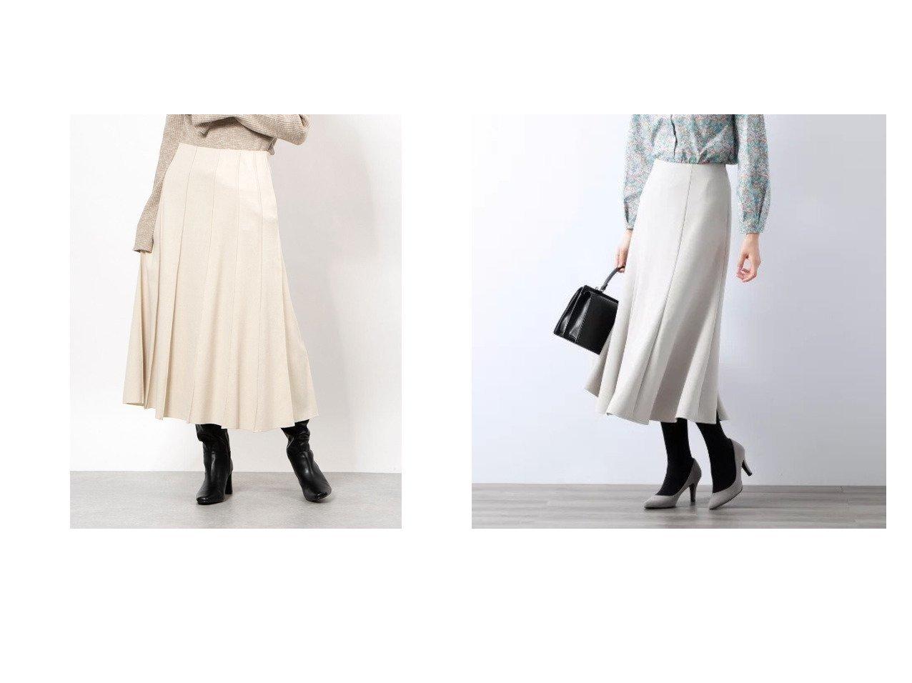 【AMACA/アマカ】のダブルクロスストレッチスカート&【Mila Owen/ミラオーウェン】のウール混パネルデザインミディSK スカートのおすすめ!人気トレンド・レディースファッションの通販 おすすめで人気の流行・トレンド、ファッションの通販商品 メンズファッション・キッズファッション・インテリア・家具・レディースファッション・服の通販 founy(ファニー) https://founy.com/ ファッション Fashion レディースファッション WOMEN スカート Skirt スマート パープル 冬 Winter ストレッチ マキシ ロング  ID:crp329100000008994
