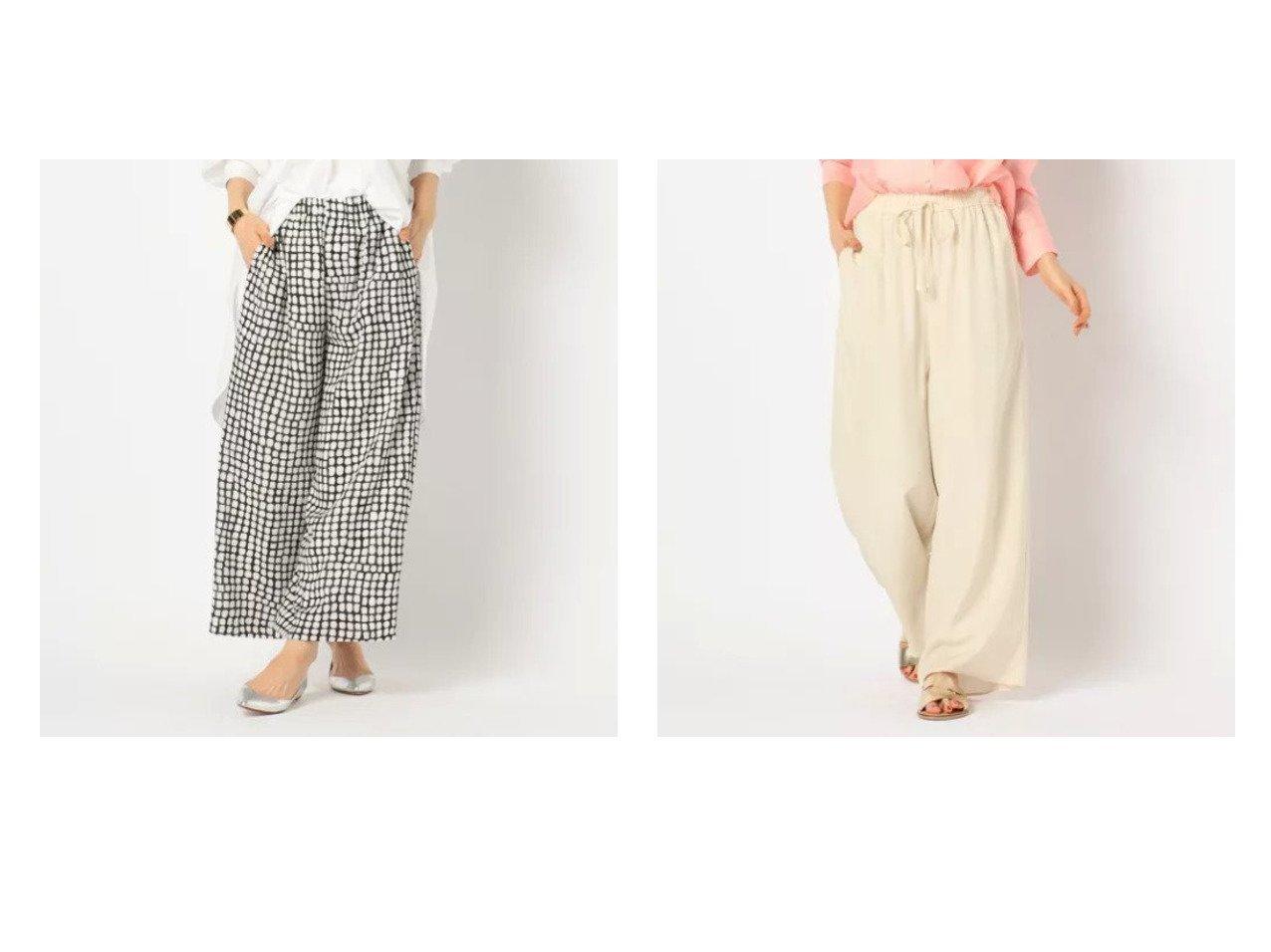 【NOLLEY'S/ノーリーズ】のプリントイージーパンツ&スパンタンブラーイージーパンツ パンツのおすすめ!人気トレンド・レディースファッションの通販 おすすめで人気の流行・トレンド、ファッションの通販商品 メンズファッション・キッズファッション・インテリア・家具・レディースファッション・服の通販 founy(ファニー) https://founy.com/ ファッション Fashion レディースファッション WOMEN パンツ Pants ワイド 春 |ID:crp329100000009041