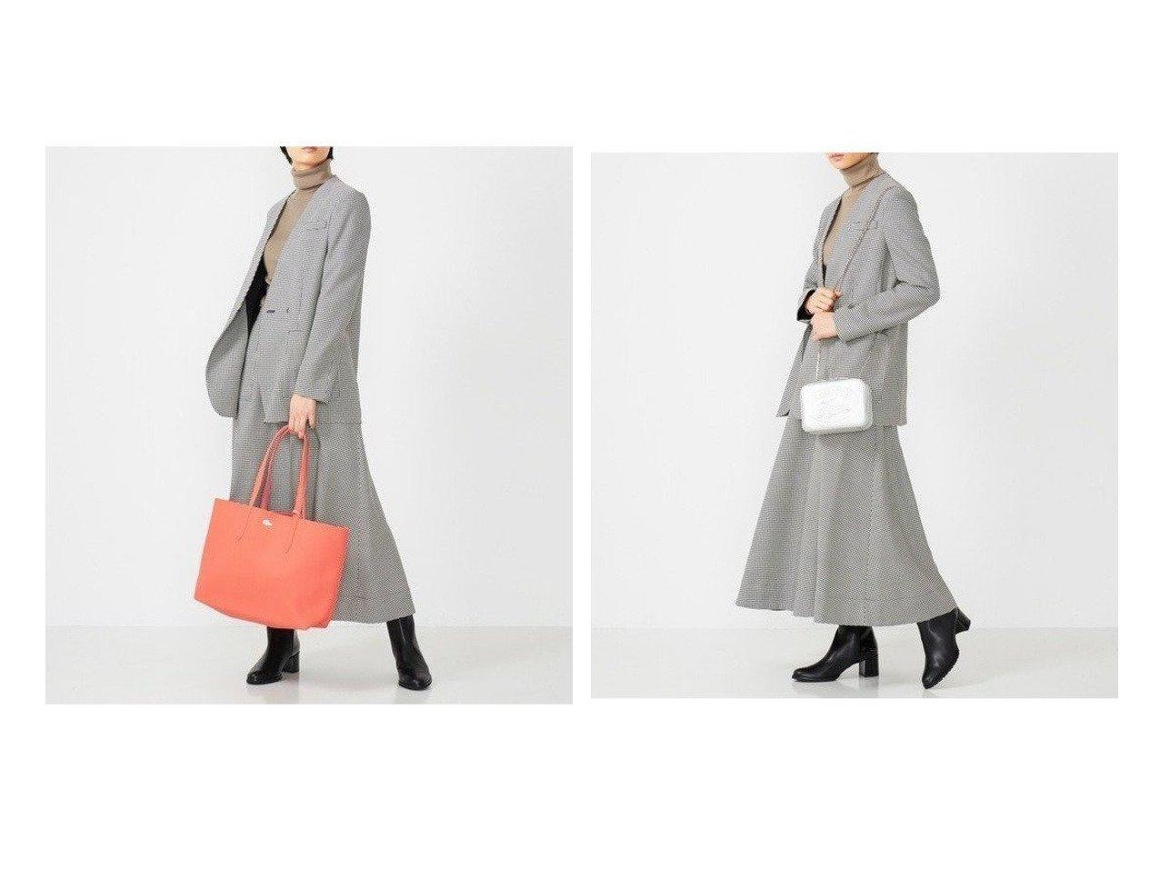 【LACOSTE/ラコステ】のANNA リバーシブル トートバッグ&CROCO CREWチェーンハンドルバッグ バッグ・鞄のおすすめ!人気、トレンド・レディースファッションの通販  おすすめで人気の流行・トレンド、ファッションの通販商品 メンズファッション・キッズファッション・インテリア・家具・レディースファッション・服の通販 founy(ファニー) https://founy.com/ ファッション Fashion レディースファッション WOMEN バッグ Bag リバーシブル エレガント シルバー チェーン ビッグ フロント |ID:crp329100000009108