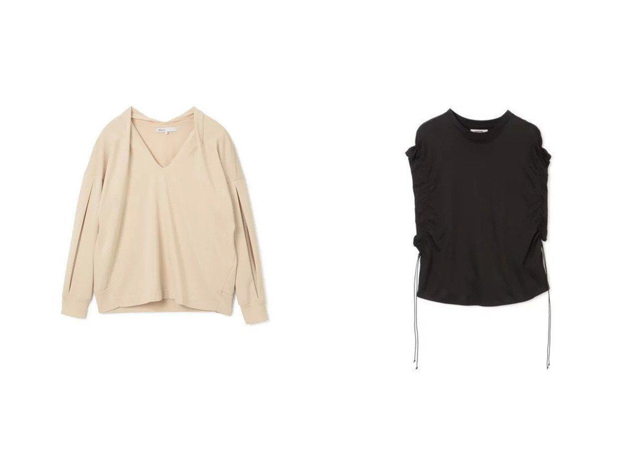 【08sircus/ゼロエイトサーカス】のAmossa tuck knit pullover&【LOKITHO/ロキト】のS トップス・カットソーのおすすめ!人気、トレンド・レディースファッションの通販 おすすめで人気の流行・トレンド、ファッションの通販商品 メンズファッション・キッズファッション・インテリア・家具・レディースファッション・服の通販 founy(ファニー) https://founy.com/ ファッション Fashion レディースファッション WOMEN トップス Tops Tshirt ニット Knit Tops シャツ/ブラウス Shirts Blouses ロング / Tシャツ T-Shirts プルオーバー Pullover カットソー Cut and Sewn キャミソール / ノースリーブ No Sleeves カットソー コンパクト 定番 長袖 ドレス ノースリーブ フォーマル  ID:crp329100000009295