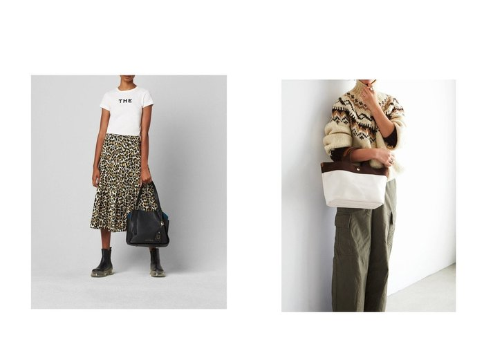 【TOPKAPI/トプカピ】のリプルネオレザー ミニトートバッグ&【MARC JACOBS/マーク ジェイコブス】のTHE DIRECTOR TOTE バッグ・鞄のおすすめ!人気、トレンド・レディースファッションの通販 おすすめ人気トレンドファッション通販アイテム 人気、トレンドファッション・服の通販 founy(ファニー) ファッション Fashion レディースファッション WOMEN バッグ Bag シンプル ポーチ コーティング ジップ ダブル チャーム バランス ポケット ライニング |ID:crp329100000009321