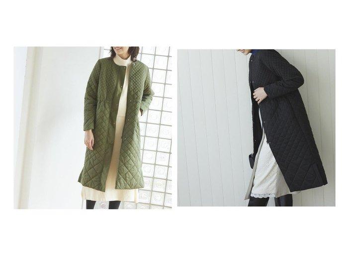 【Ketty/ケティ】のノーカラーキルティングAラインコート アウターのおすすめ!人気、トレンド・レディースファッションの通販 おすすめファッション通販アイテム レディースファッション・服の通販 founy(ファニー) ファッション Fashion レディースファッション WOMEN アウター Coat Outerwear コート Coats Aラインコート A-Line Coats キルティング シェイプ シルバー シンプル タートルネック パイピング 防寒 |ID:crp329100000009340