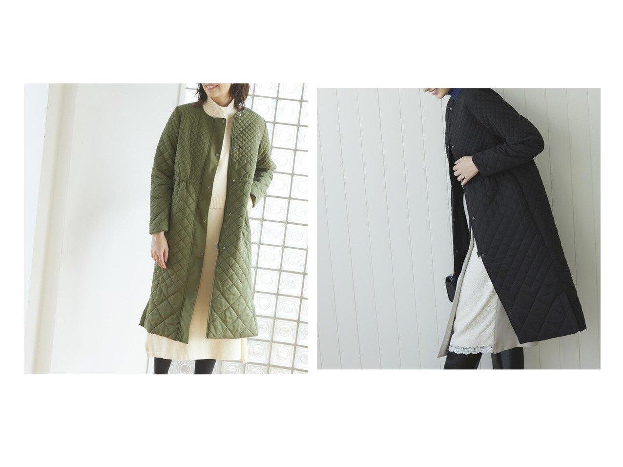 【Ketty/ケティ】のノーカラーキルティングAラインコート アウターのおすすめ!人気、トレンド・レディースファッションの通販 おすすめで人気の流行・トレンド、ファッションの通販商品 メンズファッション・キッズファッション・インテリア・家具・レディースファッション・服の通販 founy(ファニー) https://founy.com/ ファッション Fashion レディースファッション WOMEN アウター Coat Outerwear コート Coats Aラインコート A-Line Coats キルティング シェイプ シルバー シンプル タートルネック パイピング 防寒 |ID:crp329100000009340