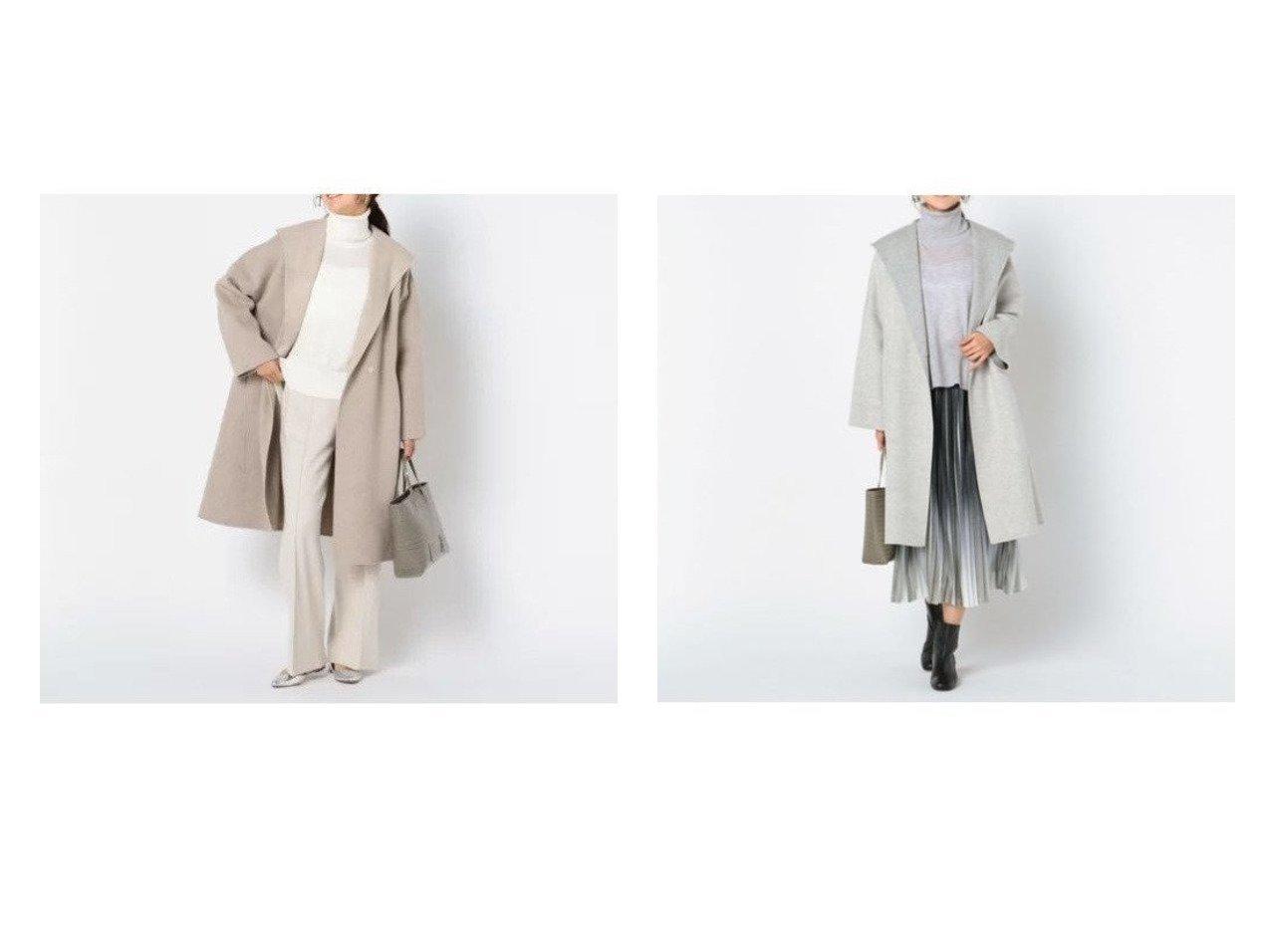 【NOLLEY'S/ノーリーズ】の【ブラ―ミン】ウールロングコート(B56605) アウターのおすすめ!人気、トレンド・レディースファッションの通販 おすすめで人気の流行・トレンド、ファッションの通販商品 メンズファッション・キッズファッション・インテリア・家具・レディースファッション・服の通販 founy(ファニー) https://founy.com/ ファッション Fashion レディースファッション WOMEN アウター Coat Outerwear コート Coats エレガント ガウン シンプル フォーマル ロング |ID:crp329100000009354