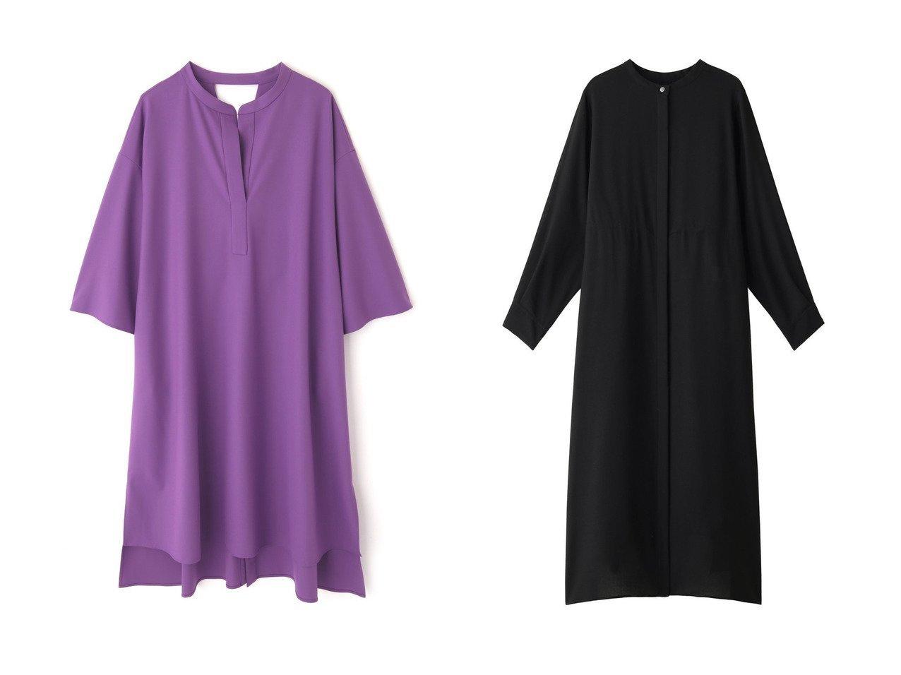 【allureville/アルアバイル】のウォッシャブル2WAYシャツワンピース&【LE PHIL/ル フィル】のファインウォッシャブルワンピース ワンピース・ドレスのおすすめ!人気、トレンド・レディースファッションの通販 おすすめで人気の流行・トレンド、ファッションの通販商品 メンズファッション・キッズファッション・インテリア・家具・レディースファッション・服の通販 founy(ファニー) https://founy.com/ ファッション Fashion レディースファッション WOMEN ワンピース Dress シャツワンピース Shirt Dresses インナー シンプル ロング ウォッシャブル エアリー フェミニン |ID:crp329100000009369