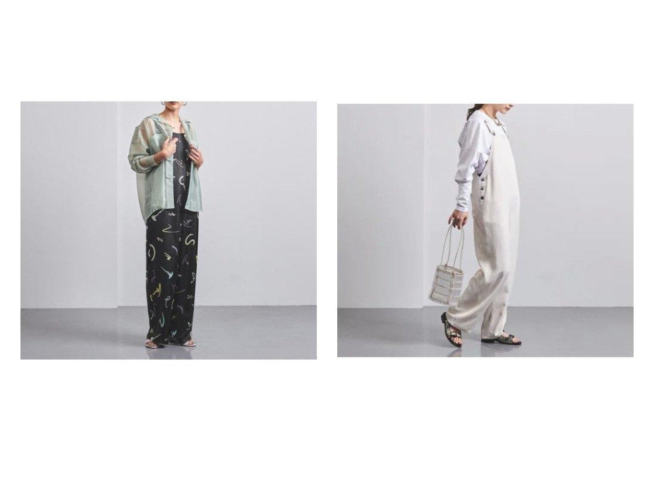【UNITED ARROWS/ユナイテッドアローズ】のUWMSC ペイントプリント サロペット†&UWMSC ACE オーバーオール† ワンピース・ドレスのおすすめ!人気、トレンド・レディースファッションの通販 おすすめで人気の流行・トレンド、ファッションの通販商品 メンズファッション・キッズファッション・インテリア・家具・レディースファッション・服の通販 founy(ファニー) https://founy.com/ ファッション Fashion レディースファッション WOMEN ワンピース Dress オールインワン ワンピース All In One Dress サロペット Salopette サロペット プリント ドレープ パッチ ポケット ワーク  ID:crp329100000009388
