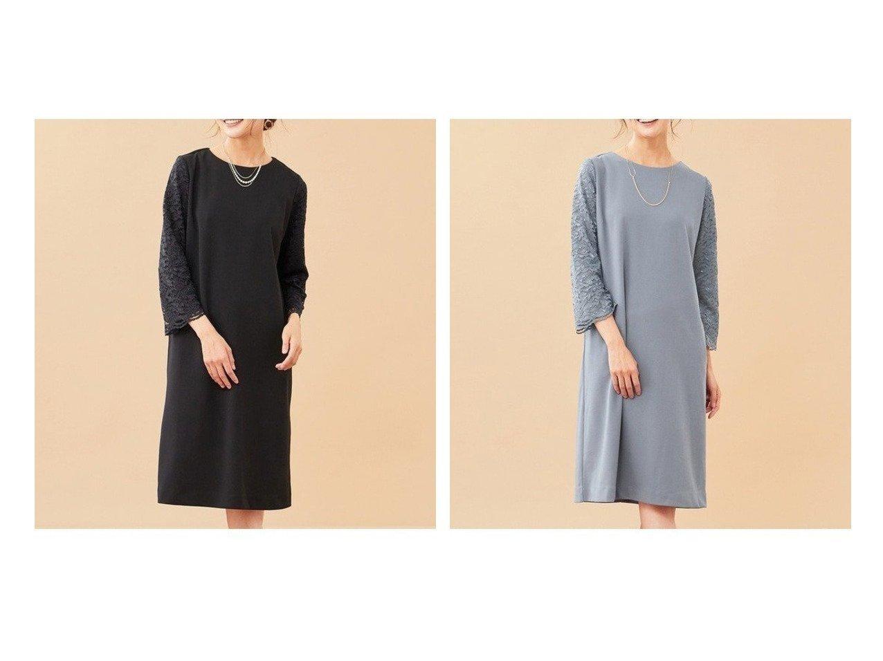 【any SiS/エニィ スィス】の【洗える】レジュールライト ワンピース ワンピース・ドレスのおすすめ!人気、トレンド・レディースファッションの通販 おすすめで人気の流行・トレンド、ファッションの通販商品 メンズファッション・キッズファッション・インテリア・家具・レディースファッション・服の通販 founy(ファニー) https://founy.com/ ファッション Fashion レディースファッション WOMEN ワンピース Dress シンプル ジャージー ジョーゼット パーティ ポケット レース ワンポイント |ID:crp329100000009394