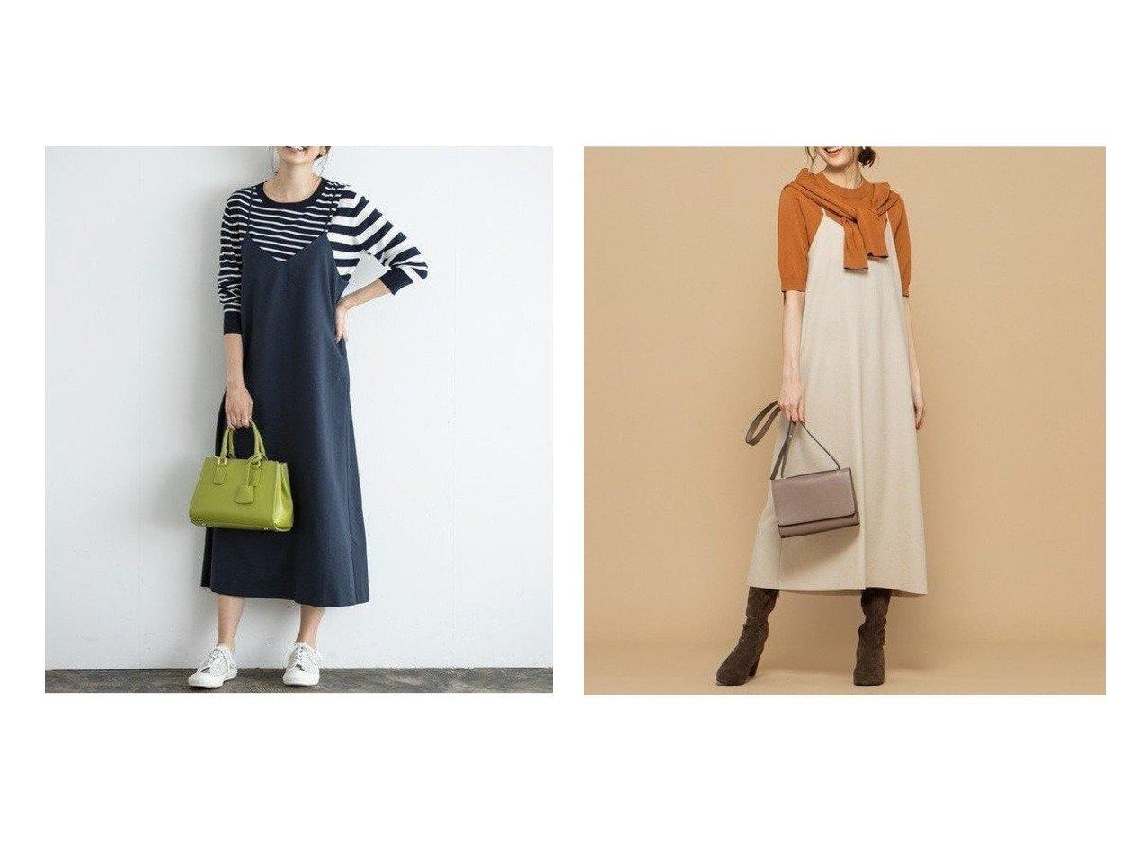 【KUMIKYOKU/組曲】の【新色登場!洗える】リネンライクベーシック キャミワンピース ワンピース・ドレスのおすすめ!人気、トレンド・レディースファッションの通販 おすすめで人気の流行・トレンド、ファッションの通販商品 メンズファッション・キッズファッション・インテリア・家具・レディースファッション・服の通販 founy(ファニー) https://founy.com/ ファッション Fashion レディースファッション WOMEN ワンピース Dress キャミワンピース No Sleeve Dresses キャミソール キャミワンピース ストレッチ 人気 リネン A/W 秋冬 Autumn &  Winter |ID:crp329100000009410