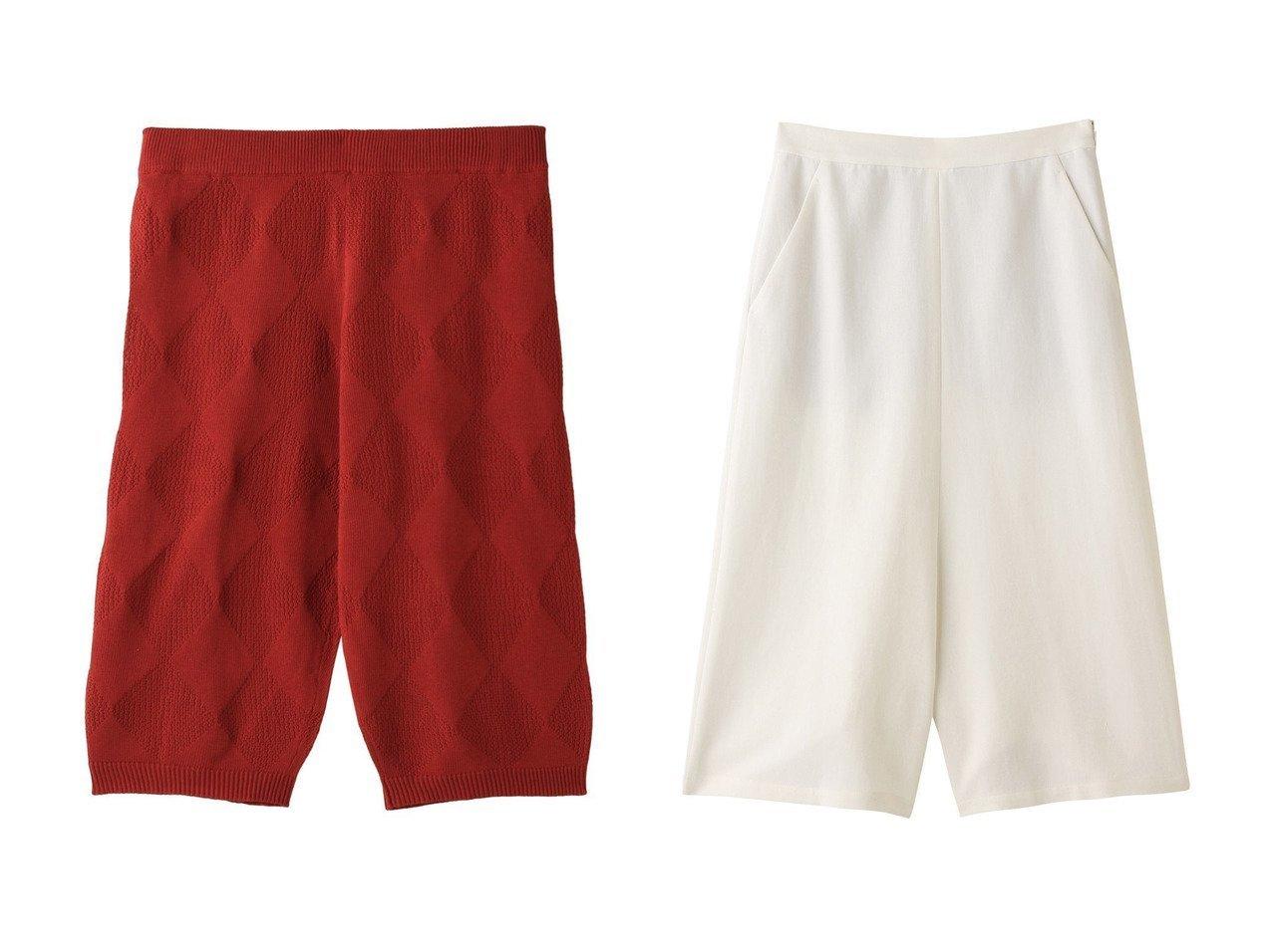【PLAIN PEOPLE/プレインピープル】の【plainless】カノコ天竺ニットアーガイル柄パンツ&コットンワイドハーフパンツ パンツのおすすめ!人気、トレンド・レディースファッションの通販 おすすめで人気の流行・トレンド、ファッションの通販商品 メンズファッション・キッズファッション・インテリア・家具・レディースファッション・服の通販 founy(ファニー) https://founy.com/ ファッション Fashion レディースファッション WOMEN パンツ Pants ハーフ / ショートパンツ Short Pants シンプル セットアップ ショート スマート ハーフ ワイド |ID:crp329100000009472