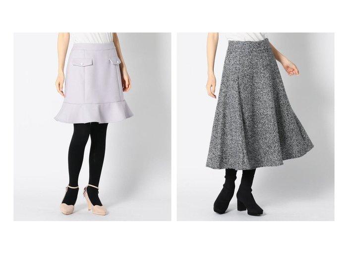 【MISCH MASCH/ミッシュマッシュ】のミニ台形スカート&ラメツイードフレアースカート スカートのおすすめ!人気、トレンド・レディースファッションの通販 おすすめファッション通販アイテム インテリア・キッズ・メンズ・レディースファッション・服の通販 founy(ファニー) https://founy.com/ ファッション Fashion レディースファッション WOMEN スカート Skirt 台形スカート Trapezoid Skirt Aライン/フレアスカート Flared A-Line Skirts NEW・新作・新着・新入荷 New Arrivals タイツ タイトスカート フェミニン フラップ 台形 ギャザー ツイード フレア ミモレ |ID:crp329100000009488