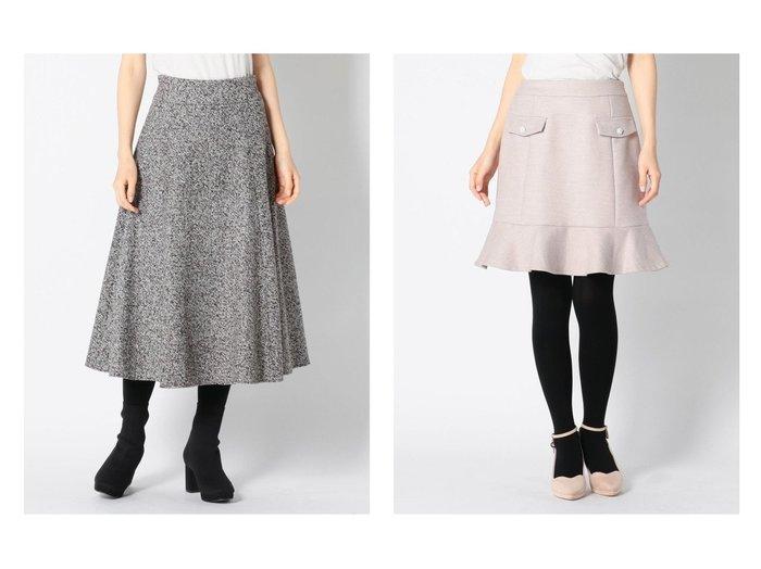 【MISCH MASCH/ミッシュマッシュ】のラメツイードフレアースカート&ミニ台形スカート スカートのおすすめ!人気、トレンド・レディースファッションの通販 おすすめファッション通販アイテム インテリア・キッズ・メンズ・レディースファッション・服の通販 founy(ファニー) https://founy.com/ ファッション Fashion レディースファッション WOMEN スカート Skirt Aライン/フレアスカート Flared A-Line Skirts 台形スカート Trapezoid Skirt NEW・新作・新着・新入荷 New Arrivals ギャザー ツイード フレア ミモレ 再入荷 Restock/Back in Stock/Re Arrival タイツ タイトスカート フェミニン フラップ 台形 |ID:crp329100000009615