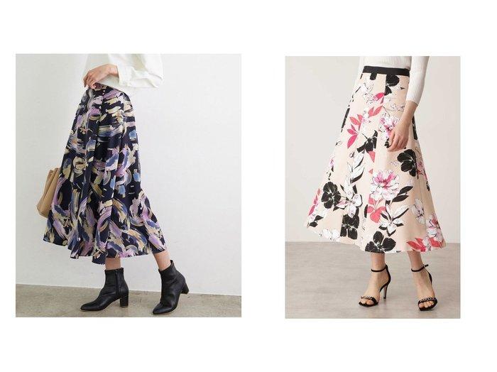 【Pinky&Dianne/ピンキーアンドダイアン】のカラーフラワーゴアードスカート&【Rope Picnic/ロペピクニック】のアーティープリントスカート スカートのおすすめ!人気、トレンド・レディースファッションの通販 おすすめファッション通販アイテム レディースファッション・服の通販 founy(ファニー) ファッション Fashion レディースファッション WOMEN スカート Skirt NEW・新作・新着・新入荷 New Arrivals フラワー プリント ロング トレンド フェミニン |ID:crp329100000009617