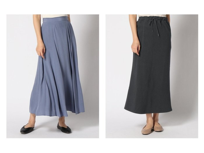 【FRAMeWORK/フレームワーク】のキリカエセミフレアスカート&【SLOBE IENA/スローブ イエナ】のラチネジャージー ロングSKIRT スカートのおすすめ!人気、トレンド・レディースファッションの通販  おすすめファッション通販アイテム レディースファッション・服の通販 founy(ファニー) ファッション Fashion レディースファッション WOMEN スカート Skirt Aライン/フレアスカート Flared A-Line Skirts ロングスカート Long Skirt NEW・新作・新着・新入荷 New Arrivals フレア ロング |ID:crp329100000009648
