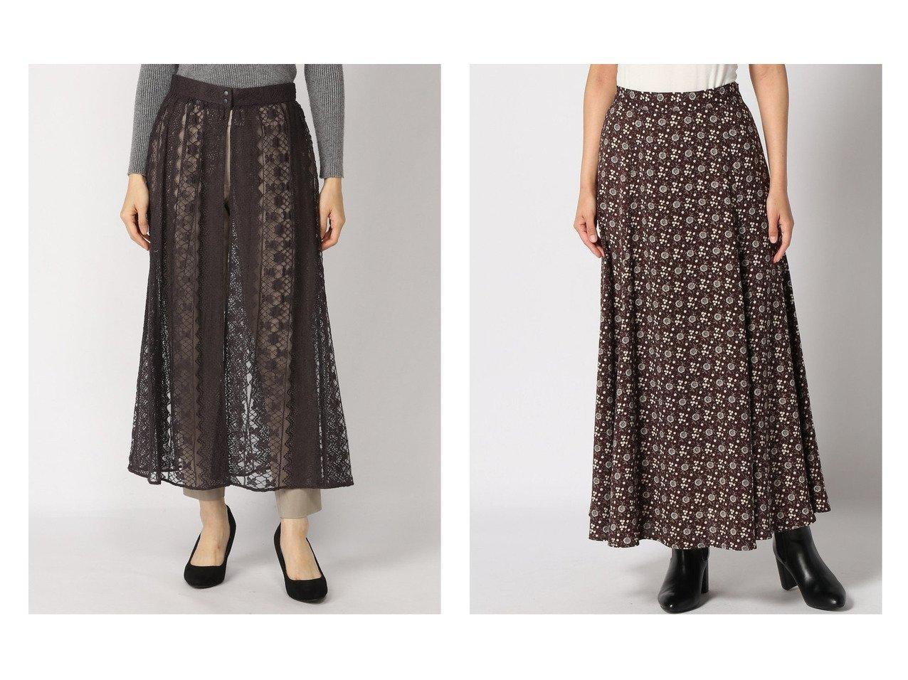 【JOURNAL STANDARD relume/ジャーナルスタンダード レリューム】のフラワーPRINT マーメイドSK&Stripe lace レイヤードSK スカートのおすすめ!人気、トレンド・レディースファッションの通販  おすすめで人気の流行・トレンド、ファッションの通販商品 メンズファッション・キッズファッション・インテリア・家具・レディースファッション・服の通販 founy(ファニー) https://founy.com/ ファッション Fashion レディースファッション WOMEN スカート Skirt Aライン/フレアスカート Flared A-Line Skirts 2020年 2020 2020-2021 秋冬 A/W AW Autumn/Winter / FW Fall-Winter 2020-2021 A/W 秋冬 AW Autumn/Winter / FW Fall-Winter フラワー フレア プリント マーメイド 人気 冬 Winter 定番 ストライプ スリット ラップ レース ロング |ID:crp329100000009692