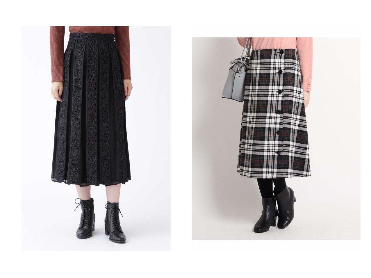 【Reflect/リフレクト】の【リバーシブル】チェック柄ラップスカート&【JILLSTUART/ジルスチュアート】の《Endy ROBE》グレーススカート スカートのおすすめ!人気、トレンド・レディースファッションの通販  おすすめで人気の流行・トレンド、ファッションの通販商品 メンズファッション・キッズファッション・インテリア・家具・レディースファッション・服の通販 founy(ファニー) https://founy.com/ ファッション Fashion レディースファッション WOMEN スカート Skirt ケミカル シフォン フレア モチーフ レース チェック ペチコート ラップ リバーシブル 無地 |ID:crp329100000009697