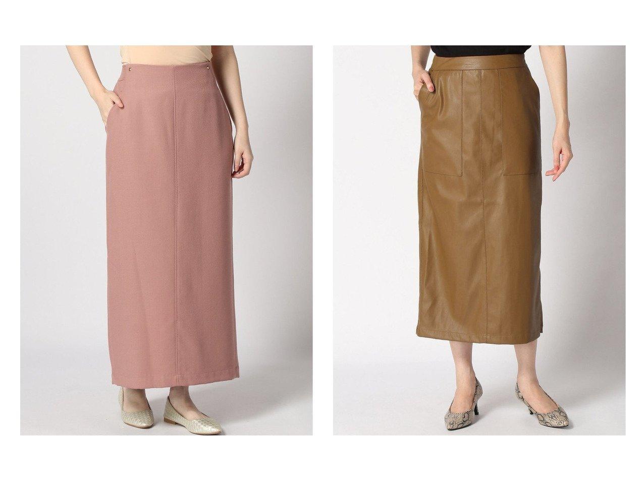 【LOWRYS FARM/ローリーズファーム】のECOレザータイトスカート&【SLOBE IENA/スローブ イエナ】のウールコンツイル ロングタイトSK スカートのおすすめ!人気、トレンド・レディースファッションの通販  おすすめで人気の流行・トレンド、ファッションの通販商品 メンズファッション・キッズファッション・インテリア・家具・レディースファッション・服の通販 founy(ファニー) https://founy.com/ ファッション Fashion レディースファッション WOMEN スカート Skirt 2020年 2020 2020-2021 秋冬 A/W AW Autumn/Winter / FW Fall-Winter 2020-2021 A/W 秋冬 AW Autumn/Winter / FW Fall-Winter シンプル スリット タイトスカート ポケット |ID:crp329100000009710