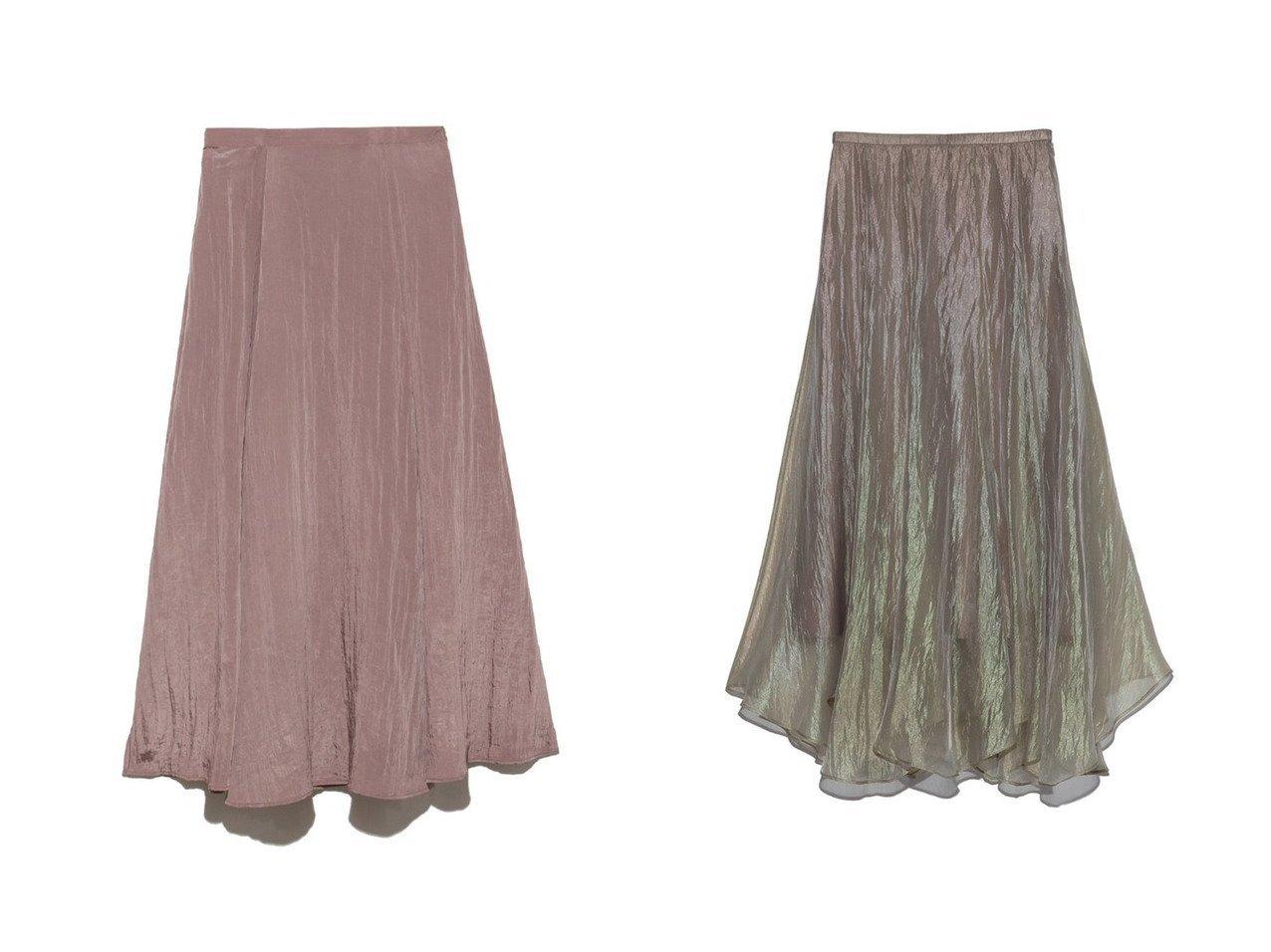 【SNIDEL/スナイデル】のシアーフレアSK&シャイニープリーツスカート スカートのおすすめ!人気、トレンド・レディースファッションの通販  おすすめで人気の流行・トレンド、ファッションの通販商品 メンズファッション・キッズファッション・インテリア・家具・レディースファッション・服の通販 founy(ファニー) https://founy.com/ ファッション Fashion レディースファッション WOMEN スカート Skirt プリーツスカート Pleated Skirts ロングスカート Long Skirt Aライン/フレアスカート Flared A-Line Skirts 10月号 11月号 イレギュラーヘム フレア プリーツ ロング シフォン シンプル ミックス 今季 |ID:crp329100000009723