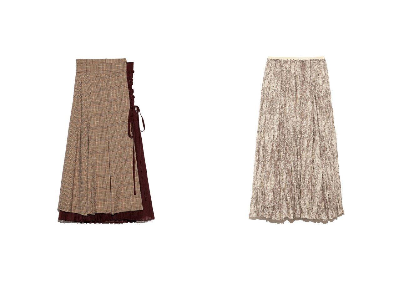 【Mila Owen/ミラオーウェン】のスリーピースシアーワッシャースカート&【Lily Brown/リリーブラウン】のチェック柄プリーツスカート スカートのおすすめ!人気、トレンド・レディースファッションの通販  おすすめで人気の流行・トレンド、ファッションの通販商品 メンズファッション・キッズファッション・インテリア・家具・レディースファッション・服の通販 founy(ファニー) https://founy.com/ ファッション Fashion レディースファッション WOMEN スカート Skirt プリーツスカート Pleated Skirts エレガント クラシカル コレクション シフォン スマート チェック ドッキング プリーツ ミックス レース A/W 秋冬 AW Autumn/Winter / FW Fall-Winter 2020年 2020 2020-2021 秋冬 A/W AW Autumn/Winter / FW Fall-Winter 2020-2021 セットアップ マキシ ワッシャー 雑誌 |ID:crp329100000009724