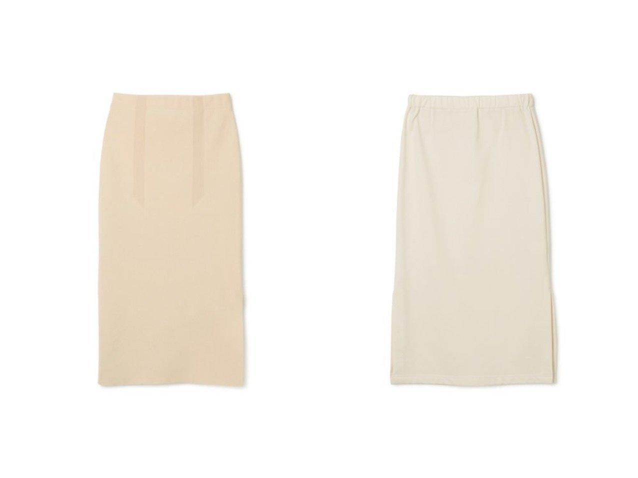 【08sircus/ゼロエイトサーカス】のAmossa side slit knit skirt&Compact terry side slit skirt スカートのおすすめ!人気、トレンド・レディースファッションの通販  おすすめで人気の流行・トレンド、ファッションの通販商品 メンズファッション・キッズファッション・インテリア・家具・レディースファッション・服の通販 founy(ファニー) https://founy.com/ ファッション Fashion レディースファッション WOMEN スカート Skirt 2021年 2021 2021 春夏 S/S SS Spring/Summer 2021 S/S 春夏 SS Spring/Summer スリット タイトスカート フロント マキシ ロング 定番 コンパクト シンプル 軽量 |ID:crp329100000009730