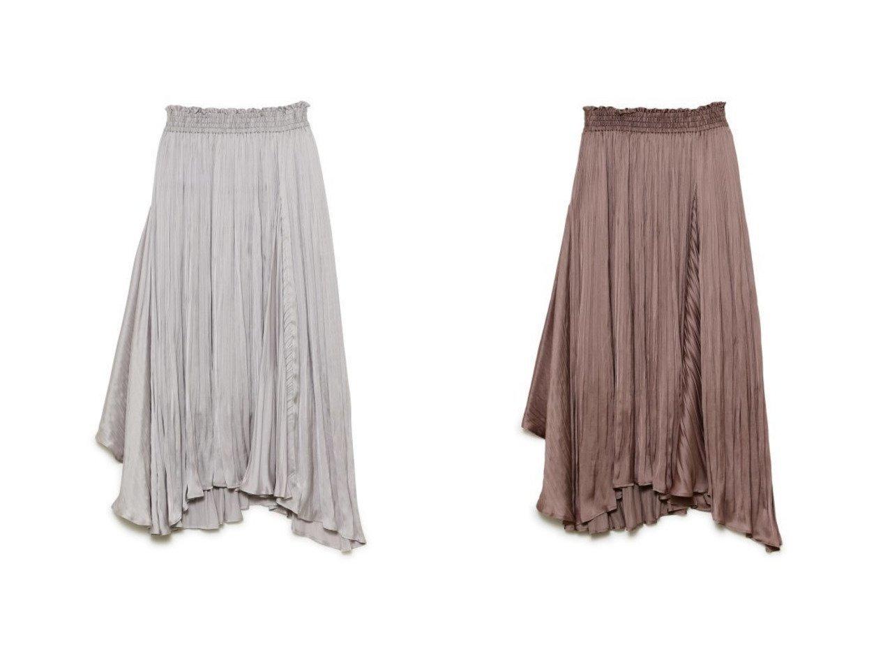 【FRAY I.D/フレイ アイディー】のアシメロングプリーツSK スカートのおすすめ!人気、トレンド・レディースファッションの通販  おすすめで人気の流行・トレンド、ファッションの通販商品 メンズファッション・キッズファッション・インテリア・家具・レディースファッション・服の通販 founy(ファニー) https://founy.com/ ファッション Fashion レディースファッション WOMEN スカート Skirt スマート プリーツ 再入荷 Restock/Back in Stock/Re Arrival |ID:crp329100000009741