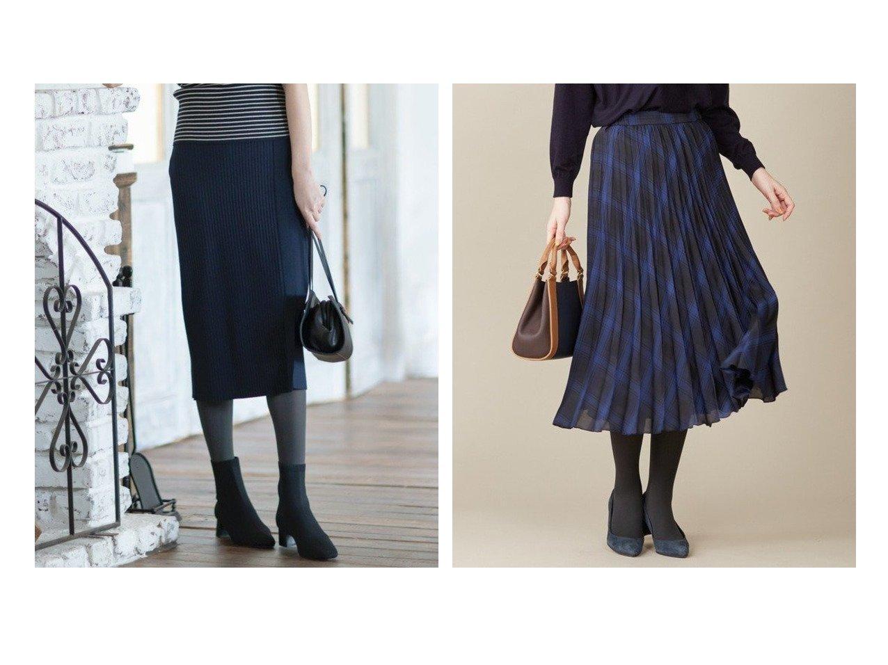 【KUMIKYOKU/組曲】の【洗える】スムースストレッチ リブニットスカート&【J.PRESS/ジェイ プレス】の【洗える】シアーチェックライト スカート スカートのおすすめ!人気、トレンド・レディースファッションの通販  おすすめで人気の流行・トレンド、ファッションの通販商品 メンズファッション・キッズファッション・インテリア・家具・レディースファッション・服の通販 founy(ファニー) https://founy.com/ ファッション Fashion レディースファッション WOMEN スカート Skirt 洗える カーディガン コンパクト ストレッチ スリット ラップ A/W 秋冬 AW Autumn/Winter / FW Fall-Winter 2020年 2020 2020-2021 秋冬 A/W AW Autumn/Winter / FW Fall-Winter 2020-2021 送料無料 Free Shipping チェック フレア プリーツ 再入荷 Restock/Back in Stock/Re Arrival 秋 |ID:crp329100000009743