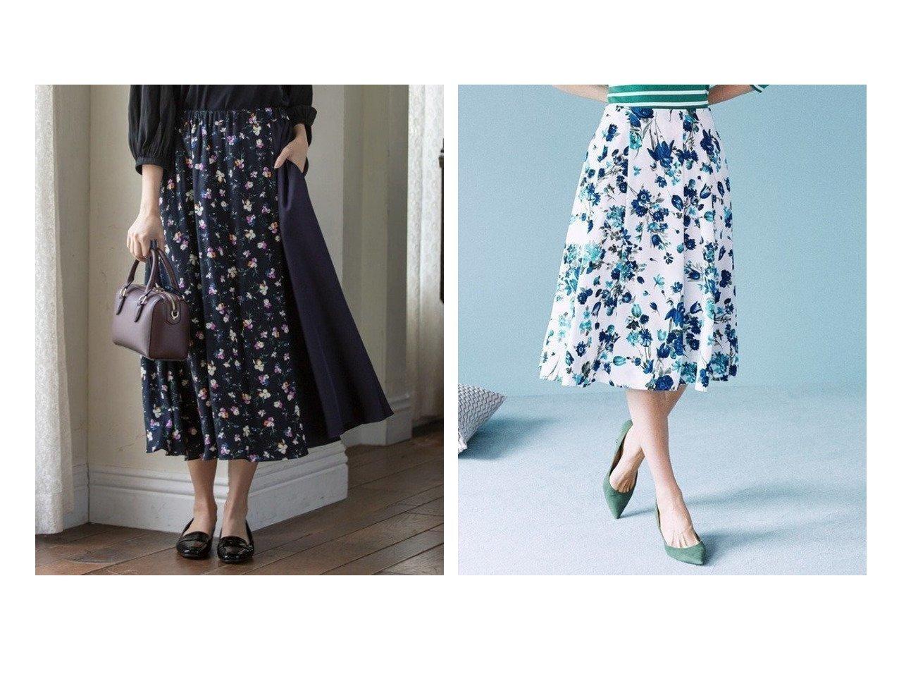 【KUMIKYOKU/組曲】の【洗える】マルチフラワープリント ギャザースカート&【Rythme KUMIKYOKU】フラワープリント フレアスカート スカートのおすすめ!人気、トレンド・レディースファッションの通販  おすすめで人気の流行・トレンド、ファッションの通販商品 メンズファッション・キッズファッション・インテリア・家具・レディースファッション・服の通販 founy(ファニー) https://founy.com/ ファッション Fashion レディースファッション WOMEN スカート Skirt Aライン/フレアスカート Flared A-Line Skirts 送料無料 Free Shipping 2020年 2020 2020-2021 秋冬 A/W AW Autumn/Winter / FW Fall-Winter 2020-2021 A/W 秋冬 AW Autumn/Winter / FW Fall-Winter ギャザー ツイル ドッキング フラワー 洗える 無地 秋 コレクション サマー ショート シンプル ハイネック バランス パターン フレア フレアースカート プリント 半袖 モチーフ |ID:crp329100000009747