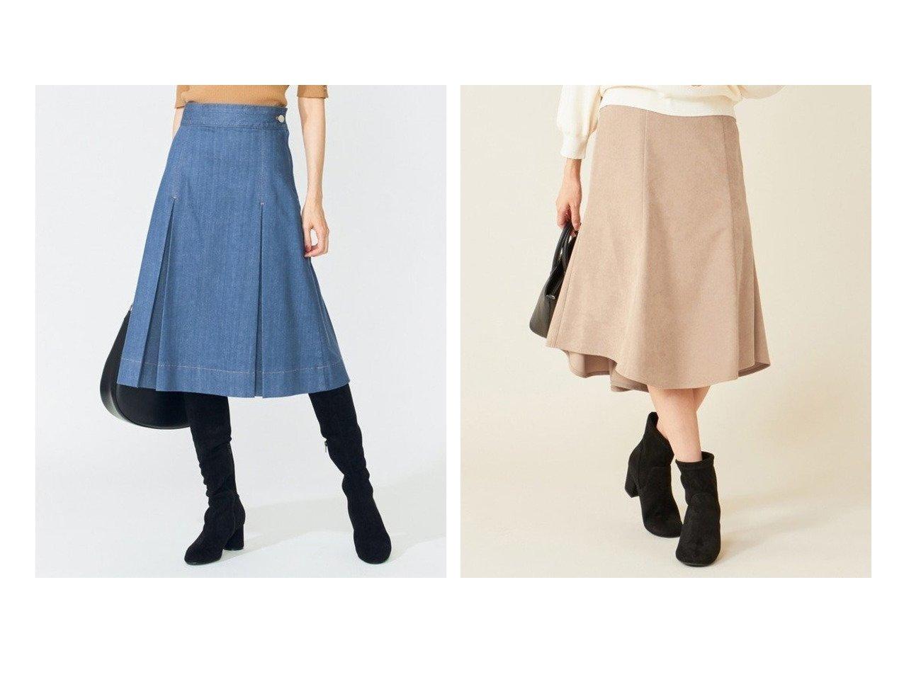 【KUMIKYOKU/組曲】の【洗える】AQUATIC DENIM タックフレアスカート&【any SiS/エニィ スィス】の【洗える】マーメイドスエード調 スカート スカートのおすすめ!人気、トレンド・レディースファッションの通販  おすすめで人気の流行・トレンド、ファッションの通販商品 メンズファッション・キッズファッション・インテリア・家具・レディースファッション・服の通販 founy(ファニー) https://founy.com/ ファッション Fashion レディースファッション WOMEN スカート Skirt Aライン/フレアスカート Flared A-Line Skirts 洗える 今季 スニーカー デニム ドット 定番 ハーフ A/W 秋冬 AW Autumn/Winter / FW Fall-Winter 2020年 2020 2020-2021 秋冬 A/W AW Autumn/Winter / FW Fall-Winter 2020-2021 送料無料 Free Shipping スエード フェイクスエード マーメイド |ID:crp329100000009749