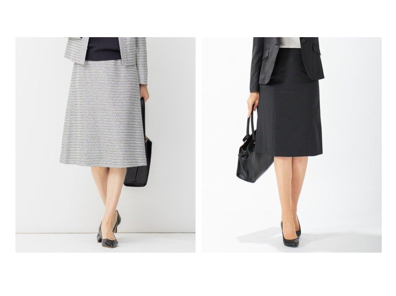 【JIYU-KU/自由区】の【Sサイズ有】カラミ ツイード スカート&【J.PRESS/ジェイ プレス】の【スーツ対応】BAHARIYE NEW スカート スカートのおすすめ!人気、トレンド・レディースファッションの通販  おすすめで人気の流行・トレンド、ファッションの通販商品 メンズファッション・キッズファッション・インテリア・家具・レディースファッション・服の通販 founy(ファニー) https://founy.com/ ファッション Fashion レディースファッション WOMEN スカート Skirt スーツ Suits スーツ スカート Skirt サテン シンプル ツイード トリミング 定番 モノトーン 送料無料 Free Shipping |ID:crp329100000009751