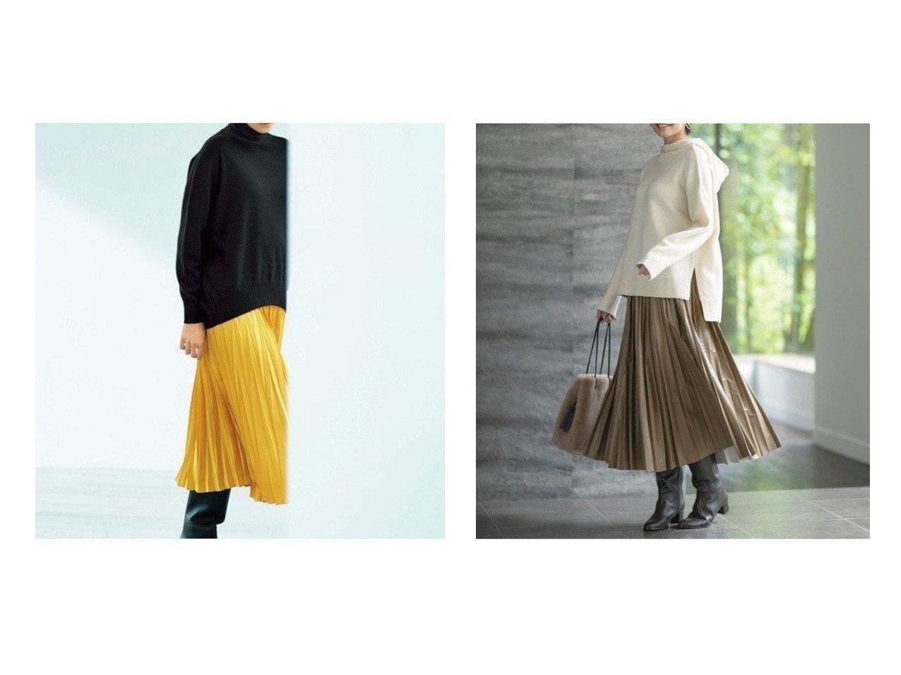 【JIYU-KU/自由区】のエコレザー プリーツ ロング スカート&【NIJYUSANKU/23区】の【R(アール)】TWILL SATIN プリーツ スカート スカートのおすすめ!人気、トレンド・レディースファッションの通販  おすすめで人気の流行・トレンド、ファッションの通販商品 メンズファッション・キッズファッション・インテリア・家具・レディースファッション・服の通販 founy(ファニー) https://founy.com/ ファッション Fashion レディースファッション WOMEN スカート Skirt プリーツスカート Pleated Skirts エレガント サテン シルク スペシャル ドレープ 人気 バランス プリーツ A/W 秋冬 AW Autumn/Winter / FW Fall-Winter 2020年 2020 2020-2021 秋冬 A/W AW Autumn/Winter / FW Fall-Winter 2020-2021 送料無料 Free Shipping |ID:crp329100000009752