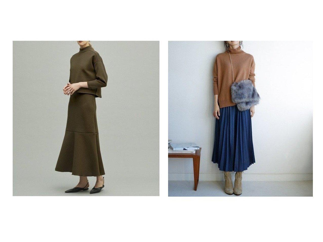 【KUMIKYOKU/組曲】の【洗える】プリーツ デニムスカート&【uncrave/アンクレイヴ】の【追加生産】スポンジージャージー スカート スカートのおすすめ!人気、トレンド・レディースファッションの通販  おすすめで人気の流行・トレンド、ファッションの通販商品 メンズファッション・キッズファッション・インテリア・家具・レディースファッション・服の通販 founy(ファニー) https://founy.com/ 雑誌掲載アイテム Magazine items ファッション雑誌 Fashion magazines ノンノ non-no ファッションモデル・俳優・女優 Models 女性 Women 西野七瀬 Nishino Nanase ファッション Fashion レディースファッション WOMEN スカート Skirt デニムスカート Denim Skirts ジャージー セットアップ 雑誌 2月号 人気 フレア ポケット マーメイド リラックス 送料無料 Free Shipping |ID:crp329100000009753
