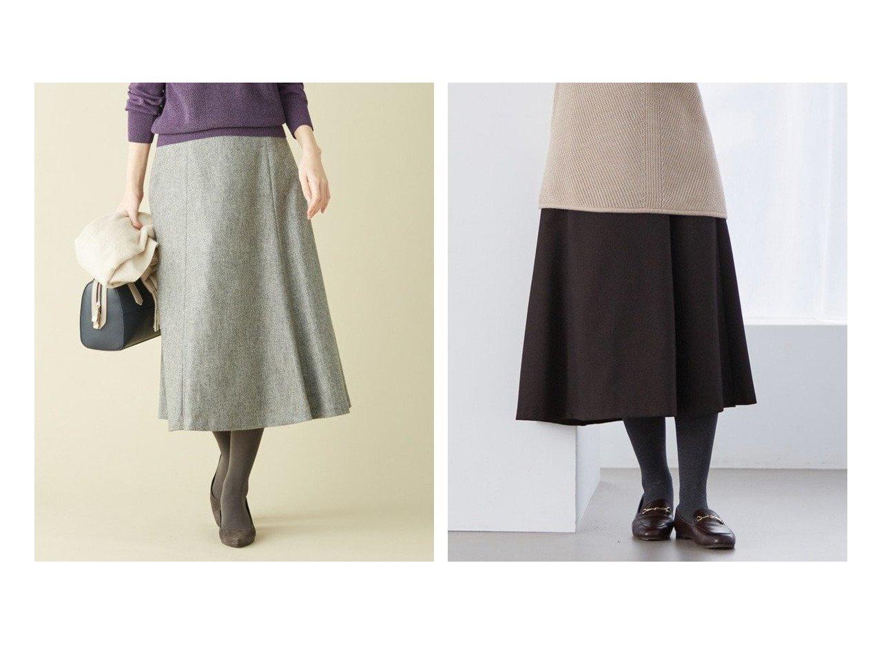 【J.PRESS/ジェイ プレス】の【シワになりにくい】洗えるLANATECシャークスキン スカート&Wシャンブレーツイル スカート スカートのおすすめ!人気、トレンド・レディースファッションの通販  おすすめで人気の流行・トレンド、ファッションの通販商品 メンズファッション・キッズファッション・インテリア・家具・レディースファッション・服の通販 founy(ファニー) https://founy.com/ ファッション Fashion レディースファッション WOMEN スカート Skirt 送料無料 Free Shipping なめらか ストレッチ フレア セットアップ フィット リアル 洗える |ID:crp329100000009755