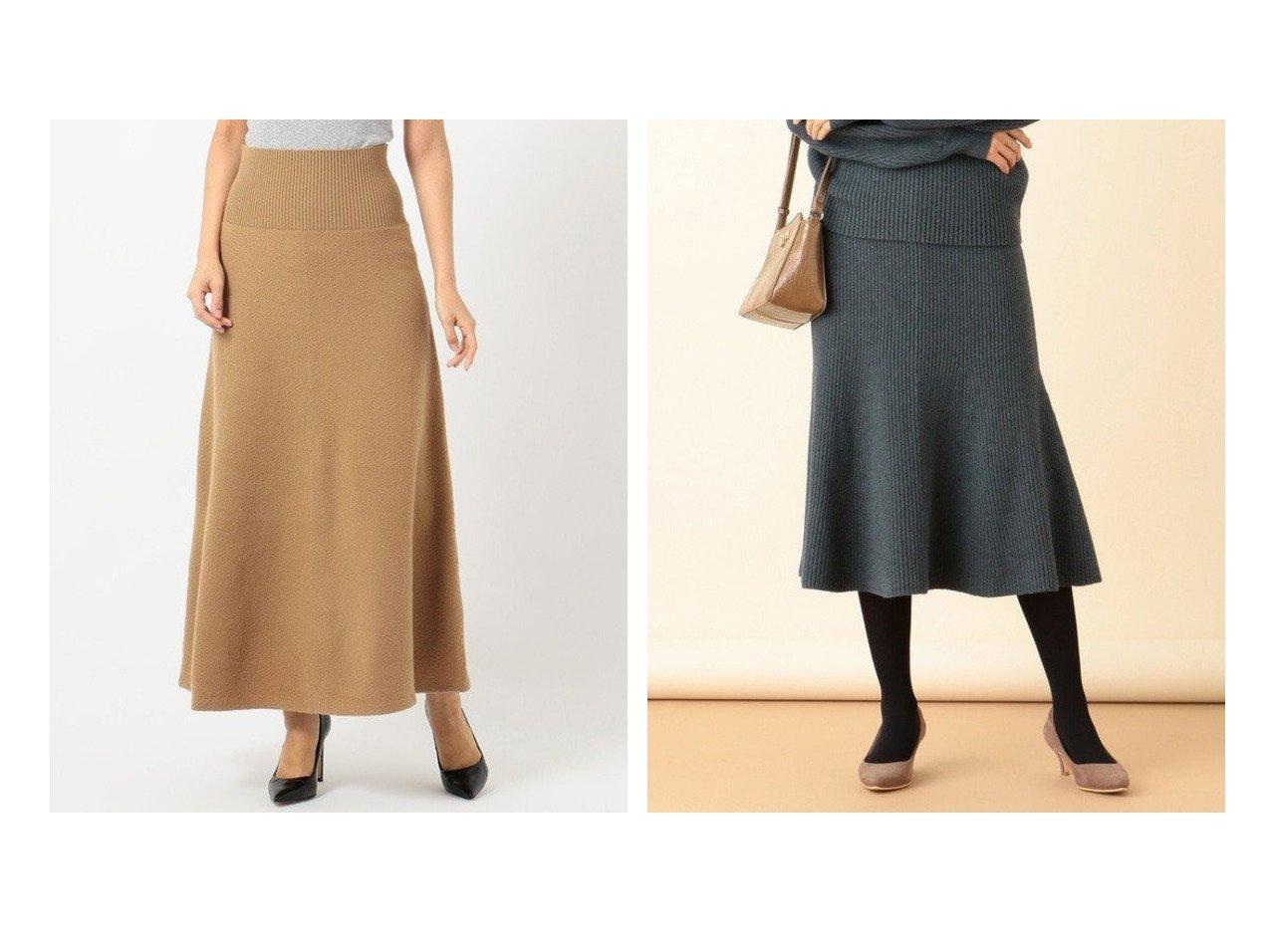 【iCB/アイシービー】のMilled Wool スカート&【any SiS/エニィ スィス】の【洗える】マーメイドニット スカート スカートのおすすめ!人気、トレンド・レディースファッションの通販  おすすめで人気の流行・トレンド、ファッションの通販商品 メンズファッション・キッズファッション・インテリア・家具・レディースファッション・服の通販 founy(ファニー) https://founy.com/ ファッション Fashion レディースファッション WOMEN スカート Skirt エレガント コンパクト ストール なめらか バランス パーカー フレア 冬 Winter 再入荷 Restock/Back in Stock/Re Arrival 送料無料 Free Shipping セットアップ ハイネック マーメイド 洗える |ID:crp329100000009756
