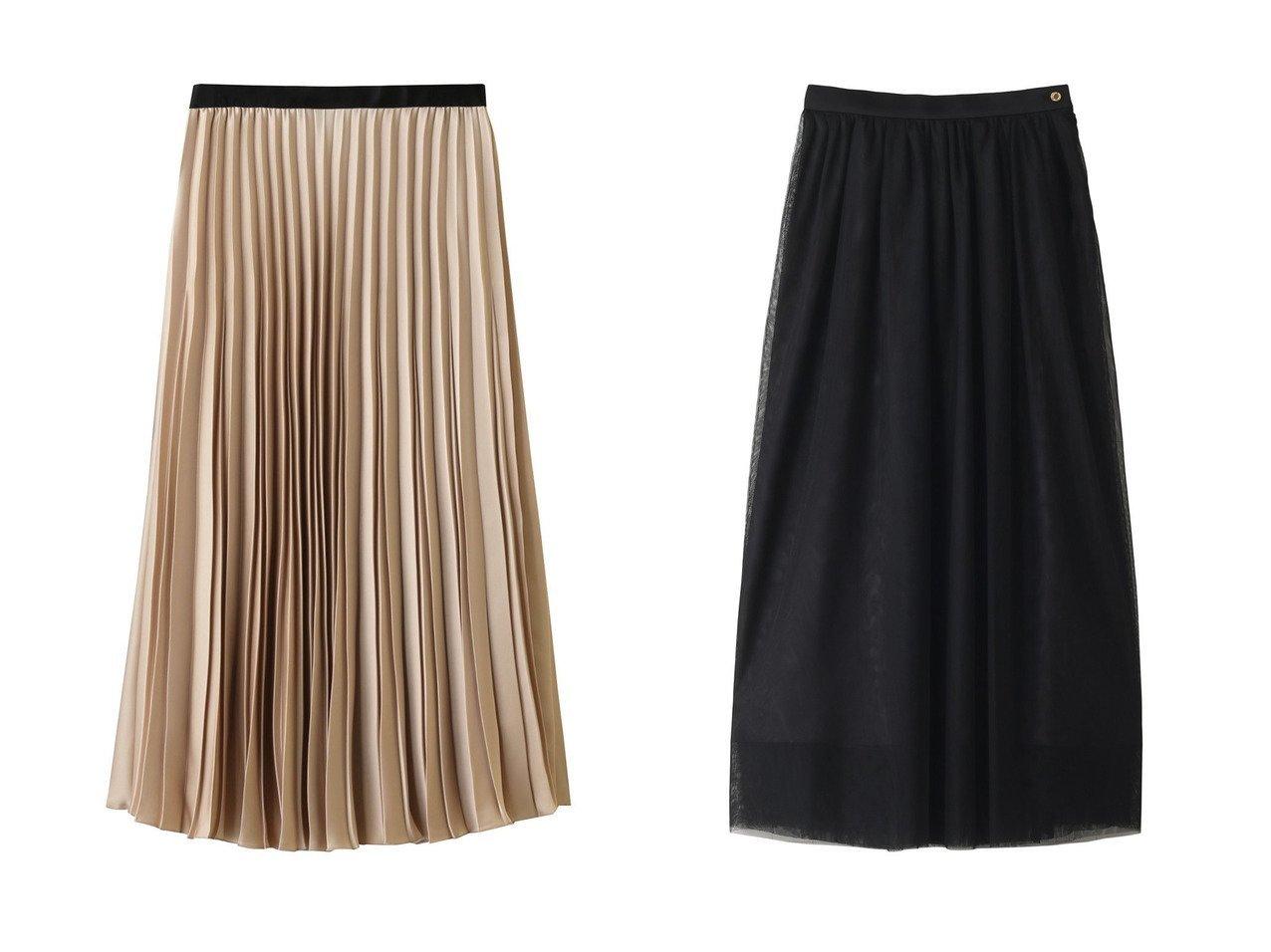 【ANAYI/アナイ】のサテンプリーツスカート&【allureville/アルアバイル】の【Loulou Willoughby】チュールマキシスカート スカートのおすすめ!人気、トレンド・レディースファッションの通販  おすすめで人気の流行・トレンド、ファッションの通販商品 メンズファッション・キッズファッション・インテリア・家具・レディースファッション・服の通販 founy(ファニー) https://founy.com/ ファッション Fashion レディースファッション WOMEN スカート Skirt プリーツスカート Pleated Skirts ロングスカート Long Skirt 2020年 2020 2020-2021 秋冬 A/W AW Autumn/Winter / FW Fall-Winter 2020-2021 2021年 2021 2021 春夏 S/S SS Spring/Summer 2021 サテン パーティ フレア プリーツ ロング 春 A/W 秋冬 AW Autumn/Winter / FW Fall-Winter |ID:crp329100000009763