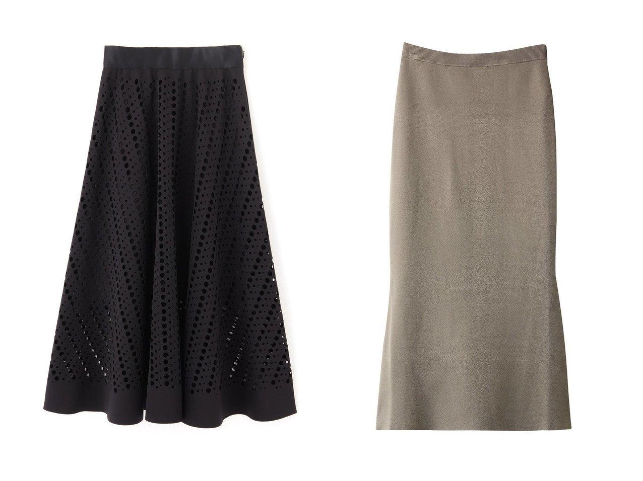【LE PHIL/ル フィル】のドットパンチングスカート&【Whim Gazette/ウィムガゼット】のミラノリブフレアスカート スカートのおすすめ!人気、トレンド・レディースファッションの通販  おすすめで人気の流行・トレンド、ファッションの通販商品 メンズファッション・キッズファッション・インテリア・家具・レディースファッション・服の通販 founy(ファニー) https://founy.com/ ファッション Fashion レディースファッション WOMEN スカート Skirt ロングスカート Long Skirt Aライン/フレアスカート Flared A-Line Skirts 2020年 2020 2020-2021 秋冬 A/W AW Autumn/Winter / FW Fall-Winter 2020-2021 2021年 2021 2021 春夏 S/S SS Spring/Summer 2021 サテン セットアップ ロング 春 A/W 秋冬 AW Autumn/Winter / FW Fall-Winter |ID:crp329100000009767
