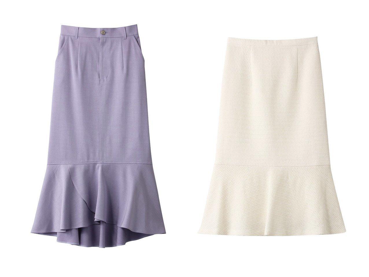 【allureville/アルアバイル】の【Loulou Willoughby】デニムロングペプラムスカート&【Loulou Willoughby】カラミツイードマーメイドスカート スカートのおすすめ!人気、トレンド・レディースファッションの通販  おすすめで人気の流行・トレンド、ファッションの通販商品 メンズファッション・キッズファッション・インテリア・家具・レディースファッション・服の通販 founy(ファニー) https://founy.com/ ファッション Fashion レディースファッション WOMEN スカート Skirt デニム ヘムライン ロング 再入荷 Restock/Back in Stock/Re Arrival オケージョン ツイード |ID:crp329100000009774