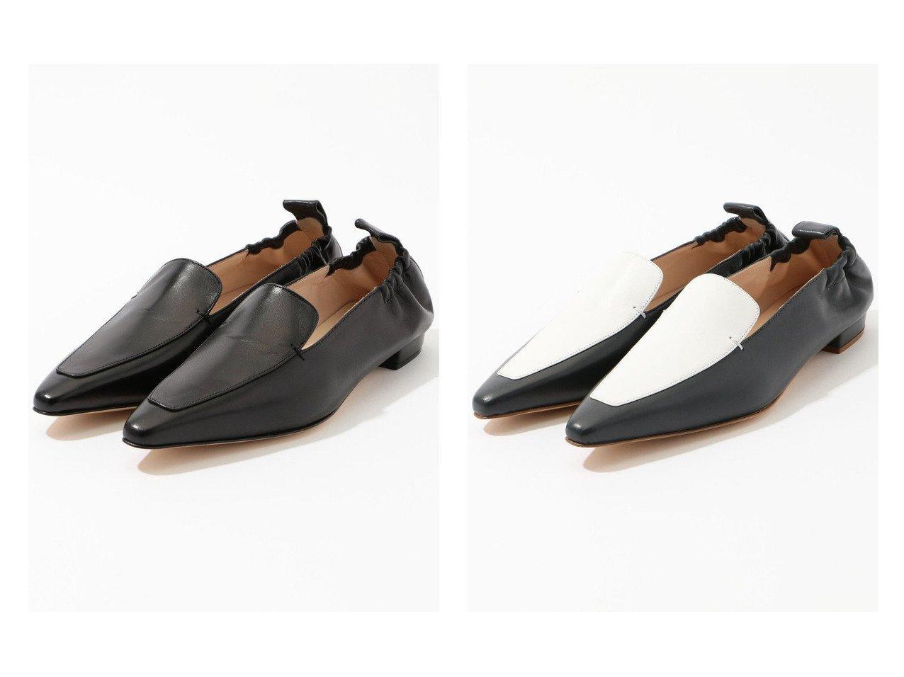 【TOMORROWLAND GOODs/トゥモローランド グッズ】のNEBULONIE セミスクエアフラットシューズ&NEBULONIE バイカラーフラットシューズ シューズ・靴のおすすめ!人気、トレンド・レディースファッションの通販 おすすめで人気の流行・トレンド、ファッションの通販商品 メンズファッション・キッズファッション・インテリア・家具・レディースファッション・服の通販 founy(ファニー) https://founy.com/ ファッション Fashion レディースファッション WOMEN NEW・新作・新着・新入荷 New Arrivals シューズ ハンド フラット |ID:crp329100000009779