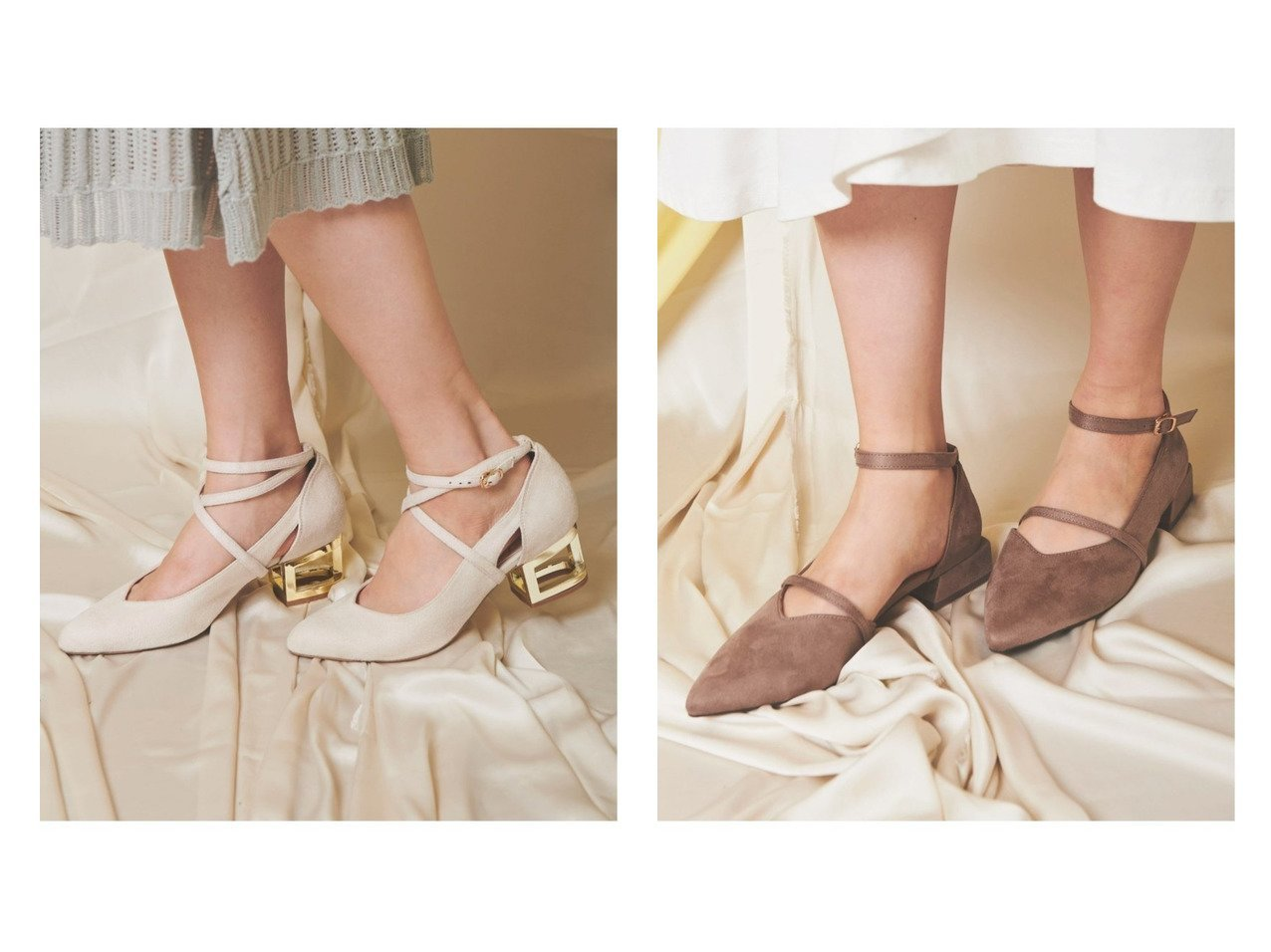 【Noela/ノエラ】のゴールドヒールパンプス&ラインストラップパンプス シューズ・靴のおすすめ!人気、トレンド・レディースファッションの通販 おすすめで人気の流行・トレンド、ファッションの通販商品 メンズファッション・キッズファッション・インテリア・家具・レディースファッション・服の通販 founy(ファニー) https://founy.com/ ファッション Fashion レディースファッション WOMEN NEW・新作・新着・新入荷 New Arrivals シューズ ベーシック ラップ |ID:crp329100000009782