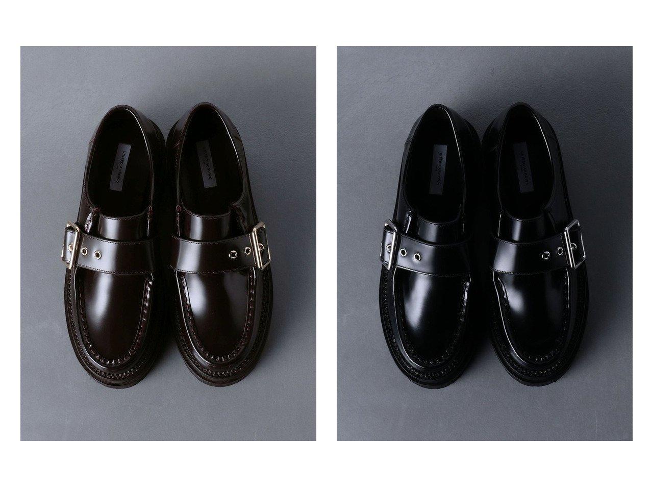 【UNITED ARROWS/ユナイテッドアローズ】のUWMSC モンクストラップ シューズ シューズ・靴のおすすめ!人気、トレンド・レディースファッションの通販 おすすめで人気の流行・トレンド、ファッションの通販商品 メンズファッション・キッズファッション・インテリア・家具・レディースファッション・服の通販 founy(ファニー) https://founy.com/ ファッション Fashion レディースファッション WOMEN ワンピース Dress ドレス Party Dresses シューズ ドレス ラップ ワイド |ID:crp329100000009793