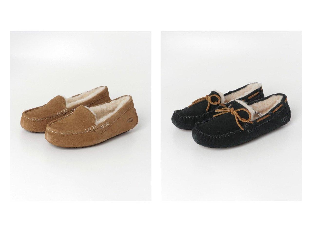 【Sonny Label / URBAN RESEARCH/サニーレーベル】のUGG ANSLEY&UGG DAKOTA シューズ・靴のおすすめ!人気、トレンド・レディースファッションの通販 おすすめで人気の流行・トレンド、ファッションの通販商品 メンズファッション・キッズファッション・インテリア・家具・レディースファッション・服の通販 founy(ファニー) https://founy.com/ ファッション Fashion レディースファッション WOMEN インソール シューズ スエード スリッポン モダン 人気 定番 シンプル ライニング リボン 軽量 |ID:crp329100000009795