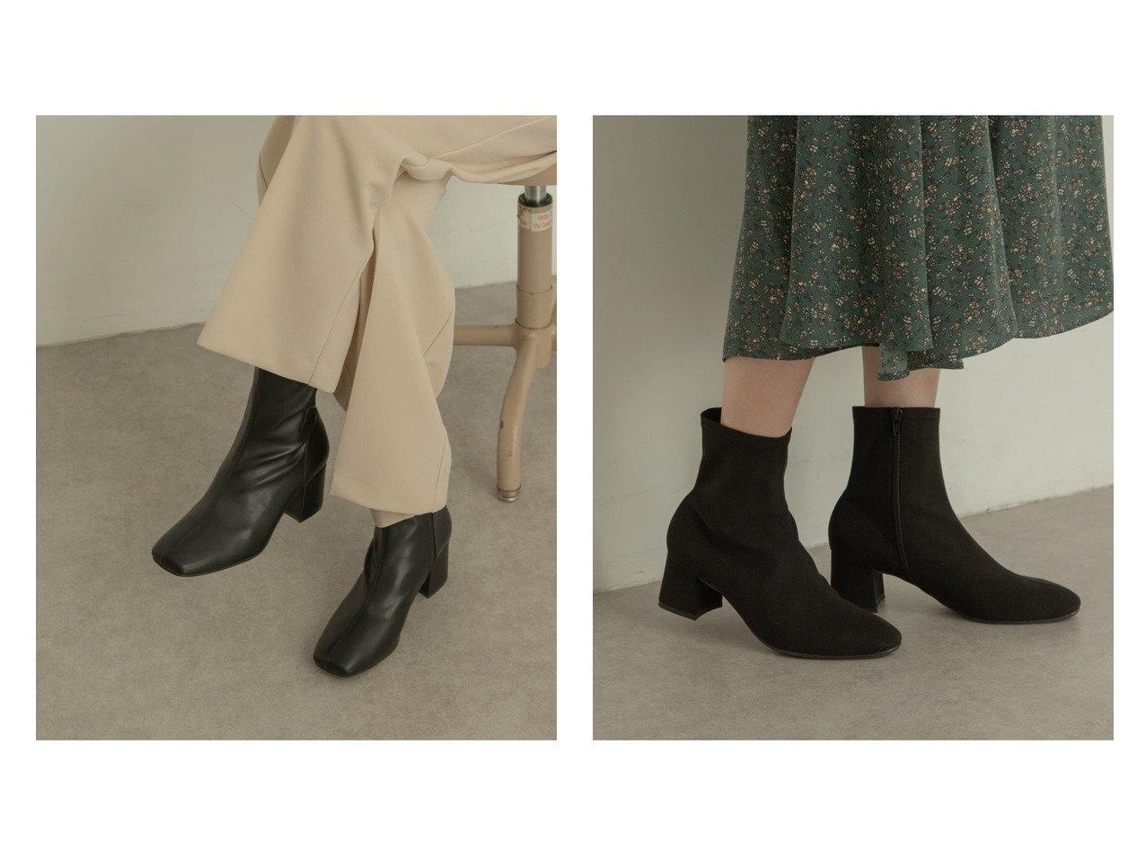 【RODE SKO/ロデスコ】のEMMY エコスエードストレッチブーツ&HEINTJE ストレッチブーツ シューズ・靴のおすすめ!人気、トレンド・レディースファッションの通販  おすすめで人気の流行・トレンド、ファッションの通販商品 メンズファッション・キッズファッション・インテリア・家具・レディースファッション・服の通販 founy(ファニー) https://founy.com/ ファッション Fashion レディースファッション WOMEN シューズ ショート ストレッチ フィット フレア ボトム ワイド 定番 スエード ベーシック レオパード A/W 秋冬 AW Autumn/Winter / FW Fall-Winter |ID:crp329100000009802