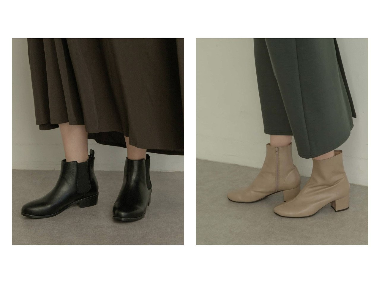 【RODE SKO/ロデスコ】のEMELINA プレーンブーツ&HELKA サイドゴアブーツ シューズ・靴のおすすめ!人気、トレンド・レディースファッションの通販  おすすめで人気の流行・トレンド、ファッションの通販商品 メンズファッション・キッズファッション・インテリア・家具・レディースファッション・服の通販 founy(ファニー) https://founy.com/ ファッション Fashion レディースファッション WOMEN シューズ ショート ソックス タイツ マニッシュ 人気 フィット フェイクレザー ミドル ワイド |ID:crp329100000009805