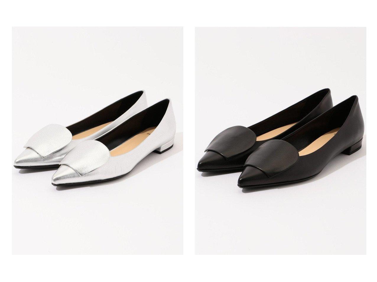 【DES PRES / TOMORROWLAND/デプレ】のDES PRES メタリックレザー フラットシューズ&DES PRES レザー フラットシューズ シューズ・靴のおすすめ!人気、トレンド・レディースファッションの通販  おすすめで人気の流行・トレンド、ファッションの通販商品 メンズファッション・キッズファッション・インテリア・家具・レディースファッション・服の通販 founy(ファニー) https://founy.com/ ファッション Fashion レディースファッション WOMEN NEW・新作・新着・新入荷 New Arrivals シューズ フラット 今季 シンプル |ID:crp329100000009811