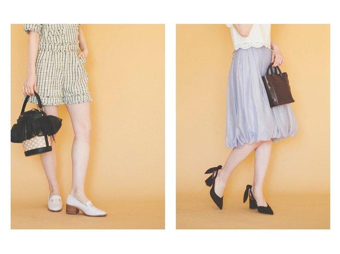 【31 Sons de mode/トランテアン ソン ドゥ モード】のフェイクスエードバックリボンストラップパンプス&フェイククロコピッドローファー シューズ・靴のおすすめ!人気、トレンド・レディースファッションの通販  おすすめファッション通販アイテム レディースファッション・服の通販 founy(ファニー) ファッション Fashion レディースファッション WOMEN 2021年 2021 2021 春夏 S/S SS Spring/Summer 2021 S/S 春夏 SS Spring/Summer クロコ シューズ フラット スカーフ スクエア フェイクスウェード リボン |ID:crp329100000009828