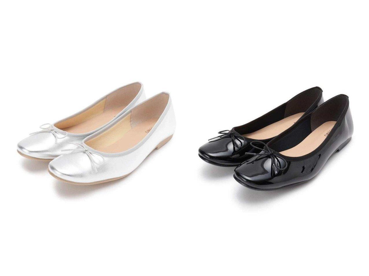 【SHOO LA RUE/シューラルー】の【日本製】バレエシュ-ズ シューズ・靴のおすすめ!人気、トレンド・レディースファッションの通販  おすすめで人気の流行・トレンド、ファッションの通販商品 メンズファッション・キッズファッション・インテリア・家具・レディースファッション・服の通販 founy(ファニー) https://founy.com/ ファッション Fashion レディースファッション WOMEN クッション シューズ バレエ フラット メッシュ リボン |ID:crp329100000009830