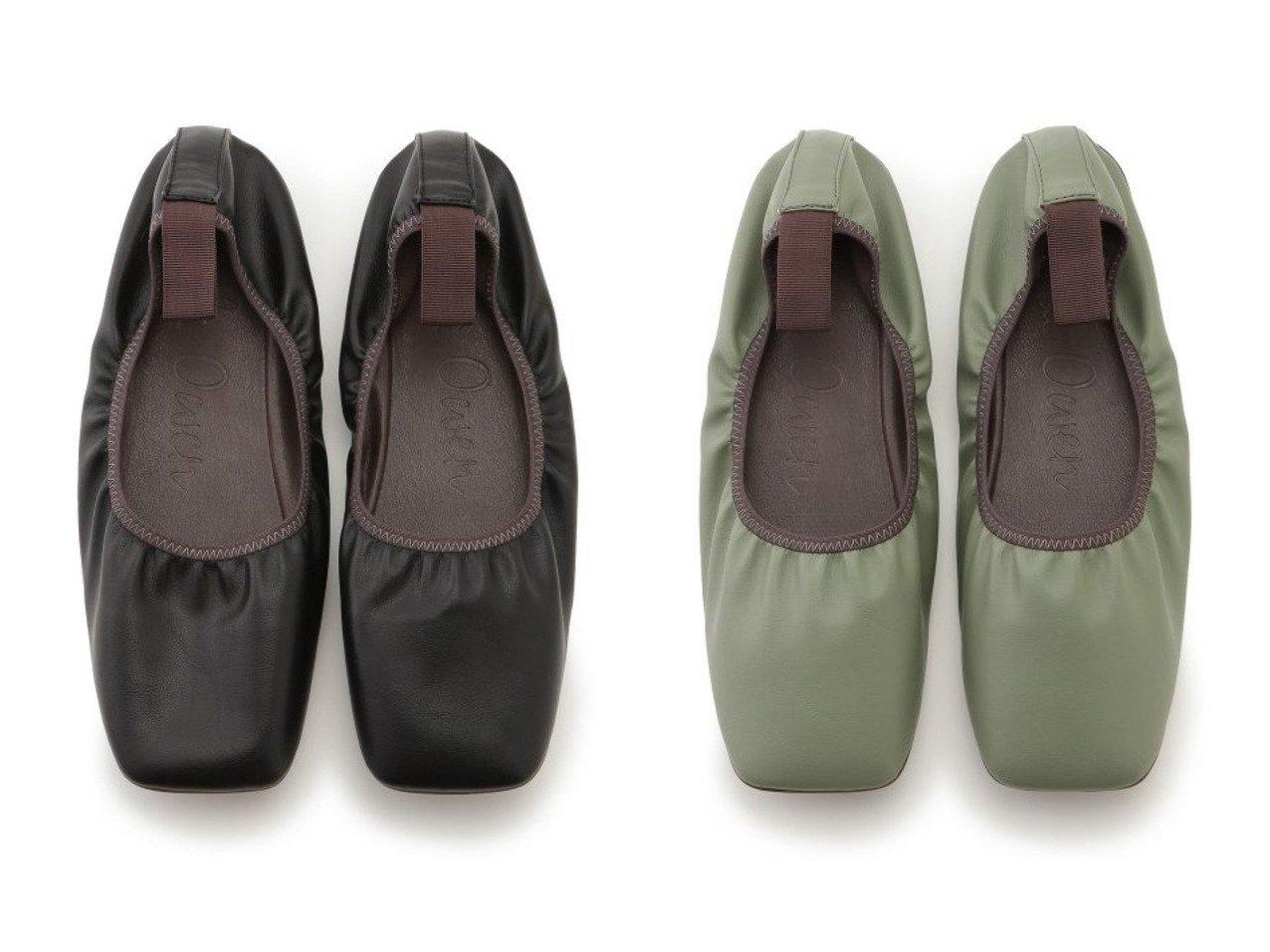 【Mila Owen/ミラオーウェン】の履き口ゴムソフトバレエシューズ シューズ・靴のおすすめ!人気、トレンド・レディースファッションの通販  おすすめで人気の流行・トレンド、ファッションの通販商品 メンズファッション・キッズファッション・インテリア・家具・レディースファッション・服の通販 founy(ファニー) https://founy.com/ ファッション Fashion レディースファッション WOMEN グログラン シューズ ストレッチ スニーカー スリッポン バレエ フェイクレザー フラット |ID:crp329100000009831