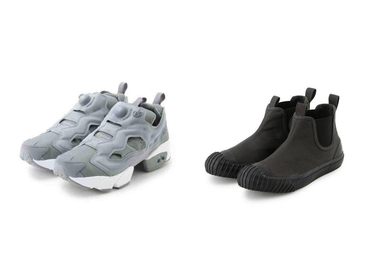 【emmi/エミ】の【Reebok】INSTAPUMP FURY OG&【Adam et Rope Le Magasin/アダム エ ロペ ル マガザン】の【CONVERSE】BIG C SIDEGORE HI シューズ・靴のおすすめ!人気、トレンド・レディースファッションの通販  おすすめで人気の流行・トレンド、ファッションの通販商品 メンズファッション・キッズファッション・インテリア・家具・レディースファッション・服の通販 founy(ファニー) https://founy.com/ ファッション Fashion レディースファッション WOMEN シューズ スニーカー スリッポン フィット レース 再入荷 Restock/Back in Stock/Re Arrival |ID:crp329100000009832