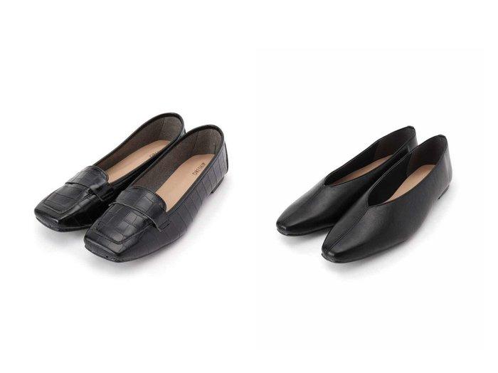 【SHOO LA RUE/シューラルー】の【日本製】スクエアやわらかロ-ファー&【日本製】スクエアVカットフラットパンプス シューズ・靴のおすすめ!人気、トレンド・レディースファッションの通販  おすすめファッション通販アイテム レディースファッション・服の通販 founy(ファニー) ファッション Fashion レディースファッション WOMEN クッション シューズ スクエア フェイクレザー フラット メッシュ ライニング 抗菌  ID:crp329100000009834